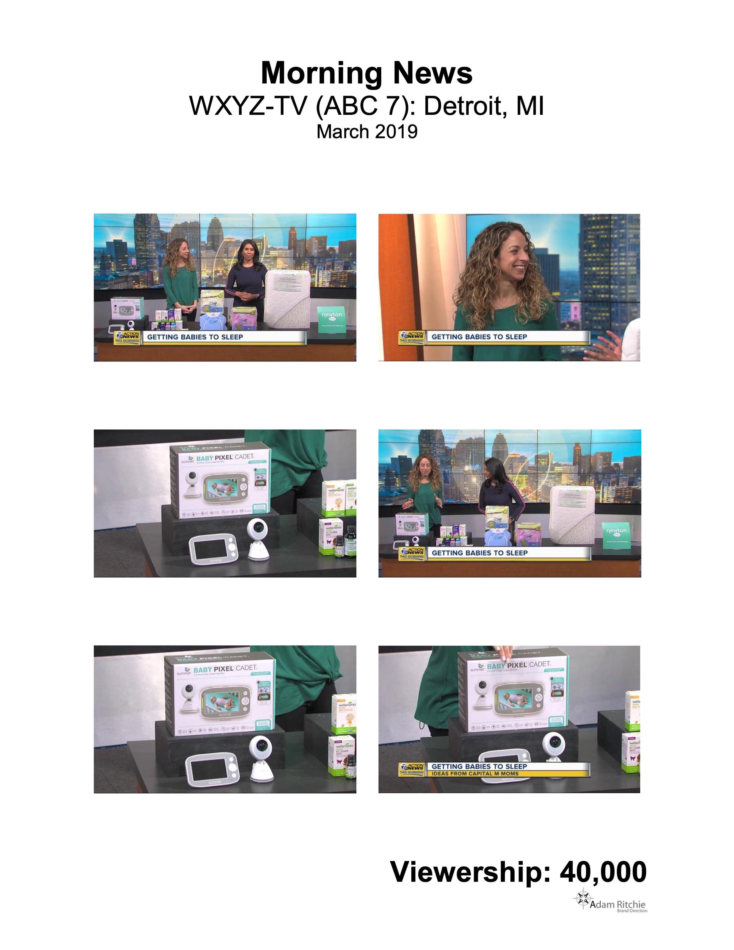 2019.03.17_WXYZ-TV (ABC 7) Online, Detroit, MI_Summer Baby Pixel Cadet Video Monitor.jpeg