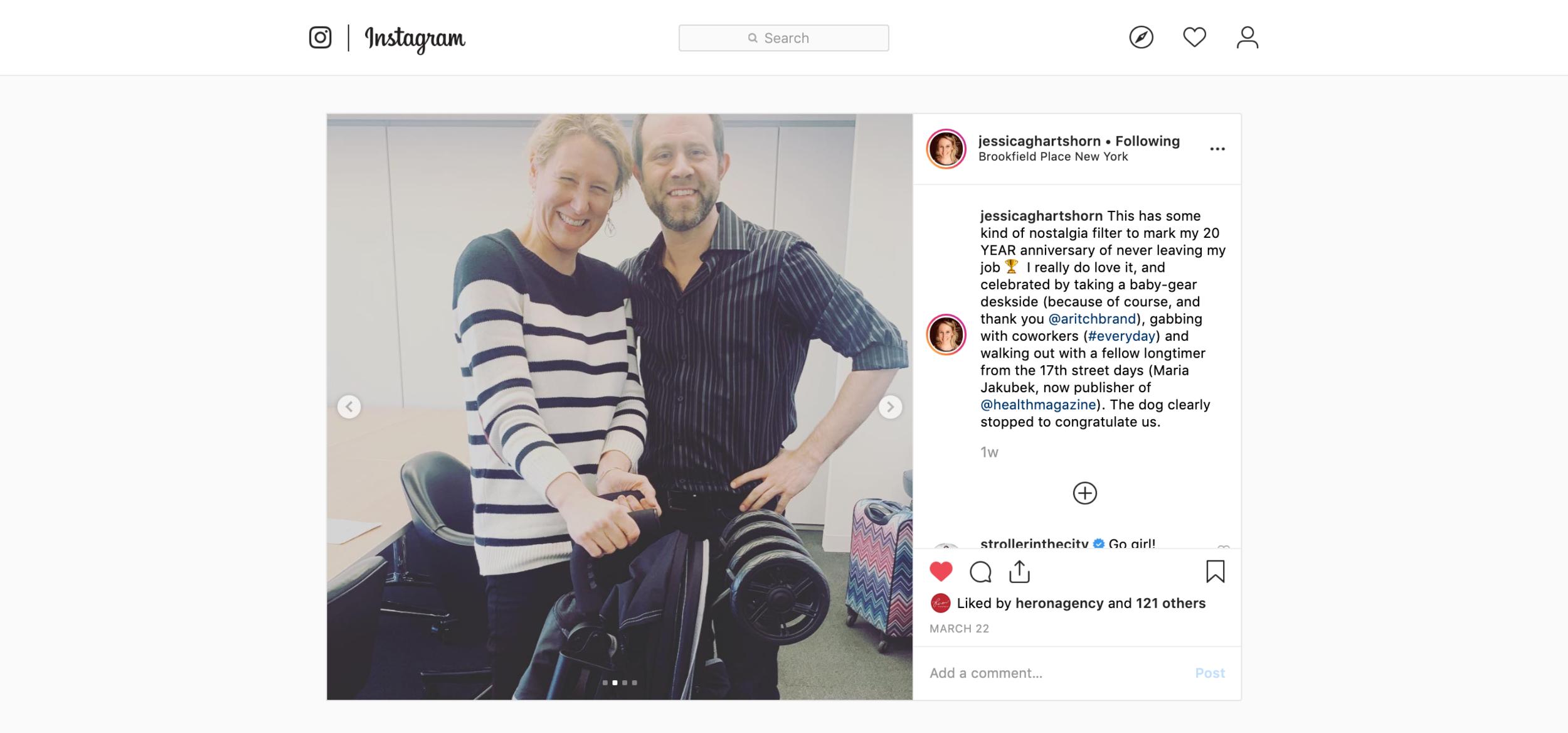 2019.03.22_jessicaghartshorn, Instagram_Summer 3Dlite+ with Adam Ritchie deskside anniversary.png