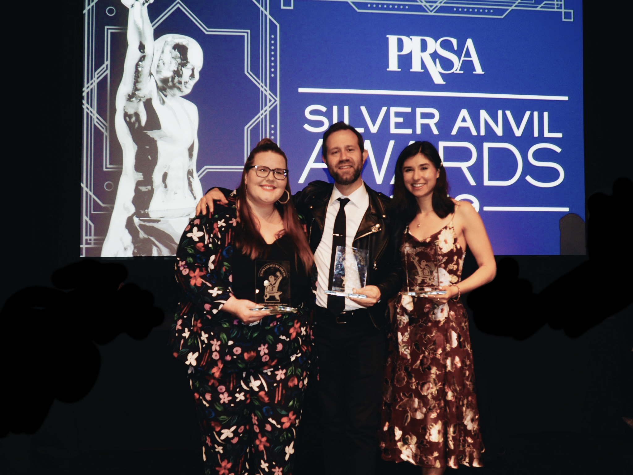 At the PRSA Anvil Awards