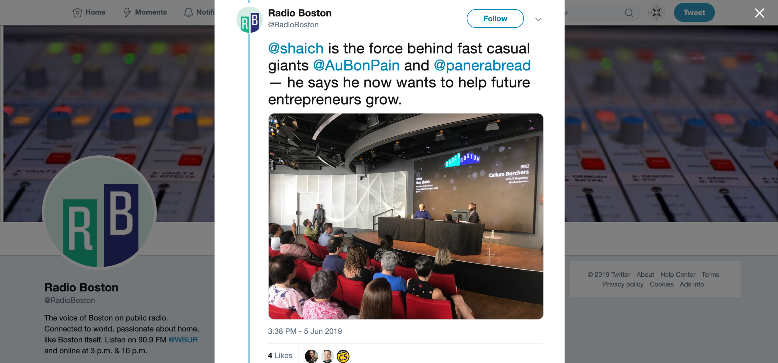 2019.06.05_(WBUR) Radio Boston, Twitter_Life Alive Back Bay Ron.png