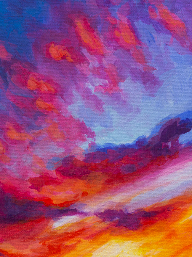 """Fire in the Sky"" Reproductions starting at $3.20"