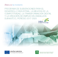 Subvenciones para la promoción de la investigación industrial, el desarrollo experimental y la innovación empresarial