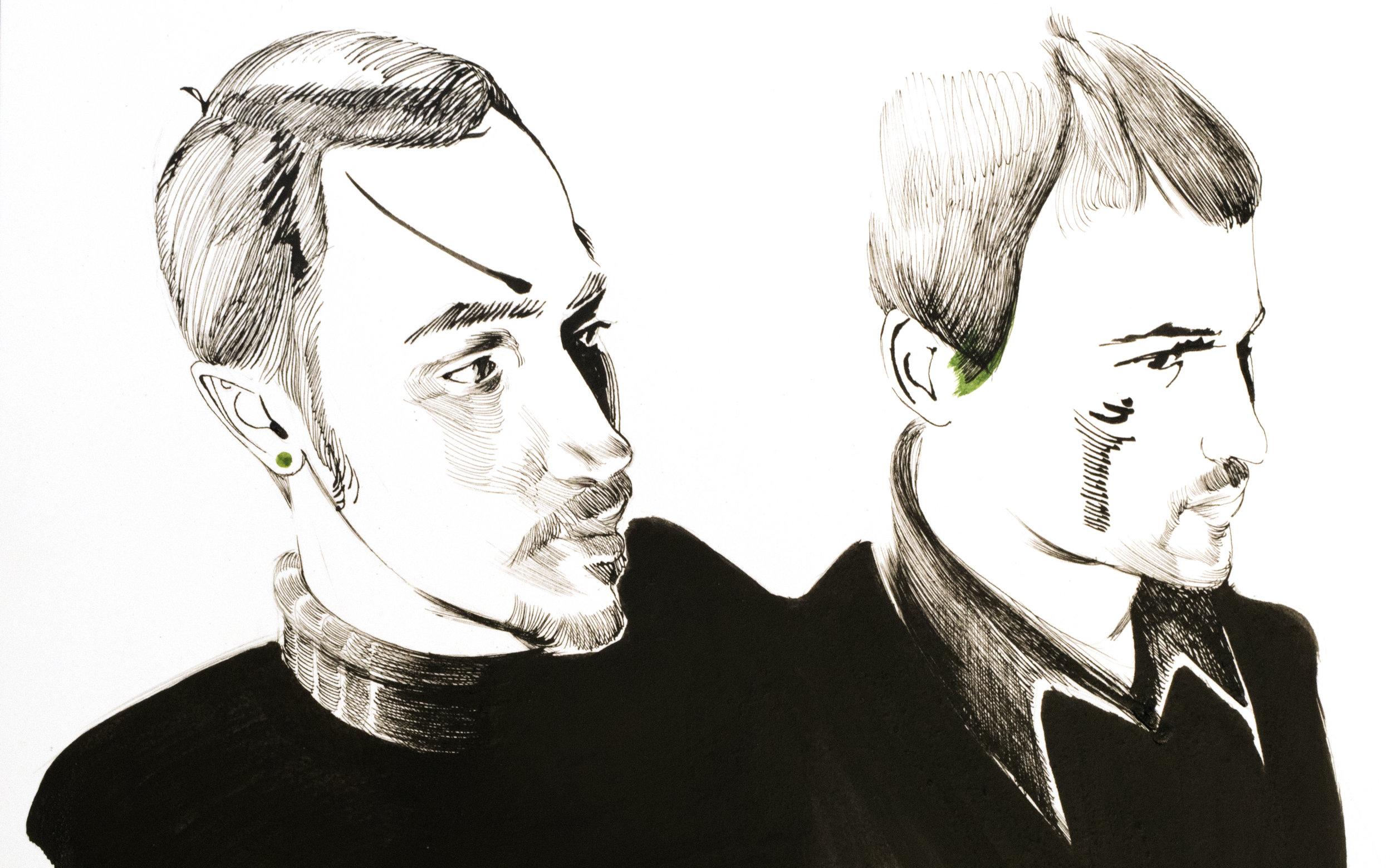 Miles Lewis & Steven Van - Miles' Site & Steven's Site