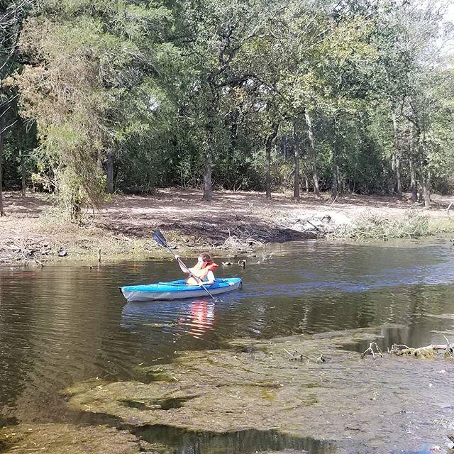 Beautiful day for a nice kayak. #fellowshipbcs #kayaking #exploring
