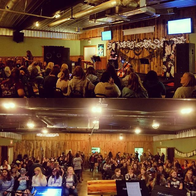 200 of God's beautiful women from Fellowship church came to Messiah's Ranch this weekend to grow closer to the Lord.