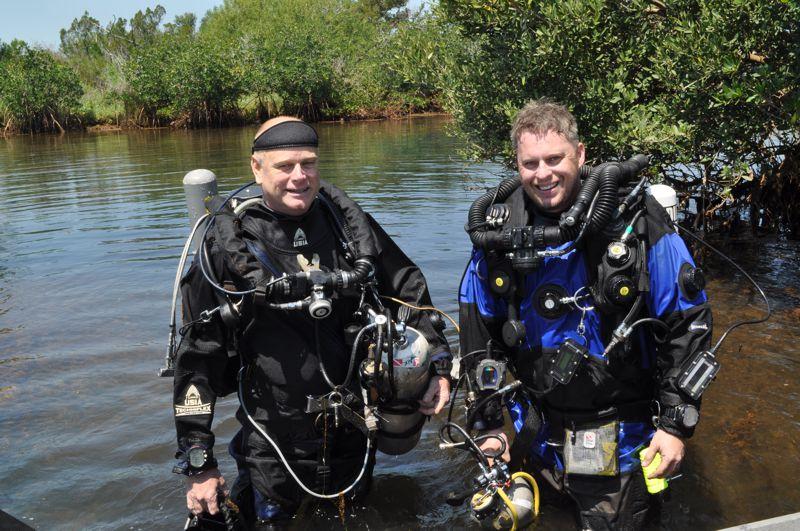 Dr. Garey & Damian Menning