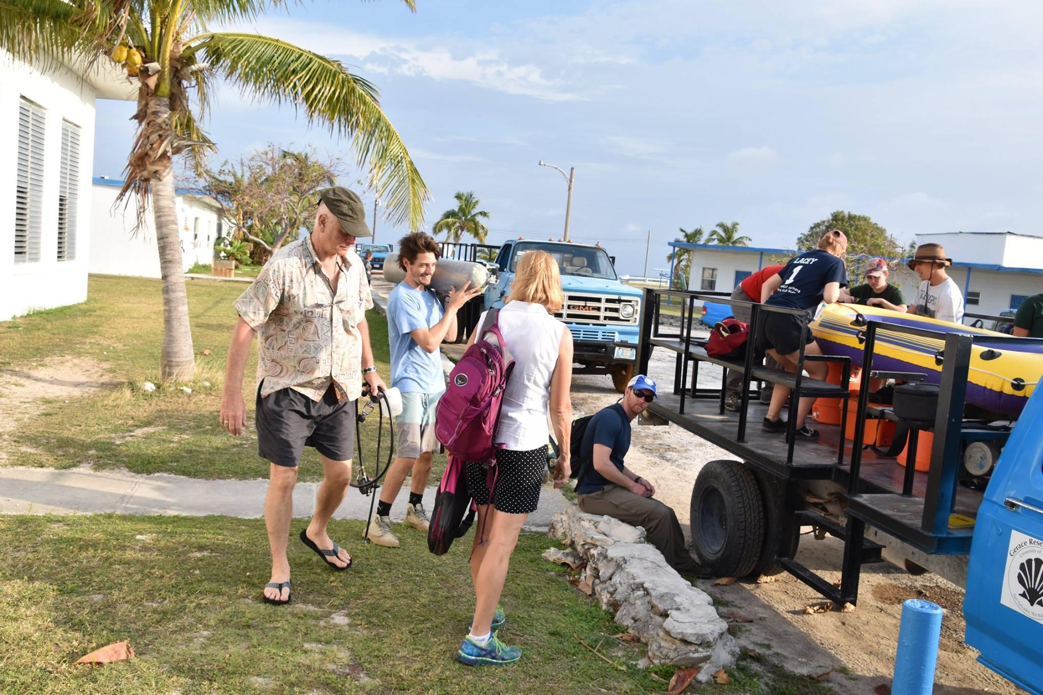 Field Class in the Bahamas
