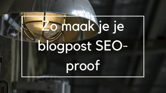 Een visual met de titel van mijn blogpost die ik kan gebruiken om mijn blogpost onder de aandacht te brengen