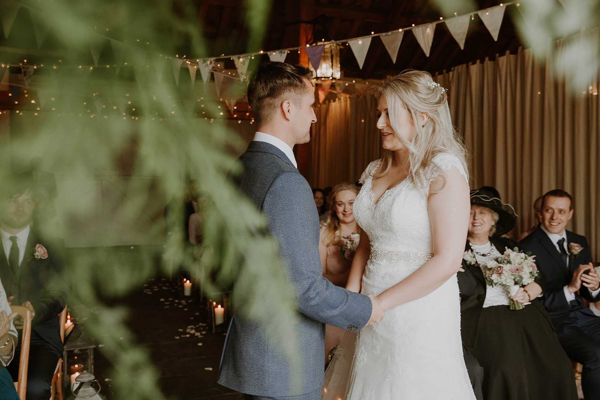 East Riddlesden Hall ceremony in the Airdale Barn
