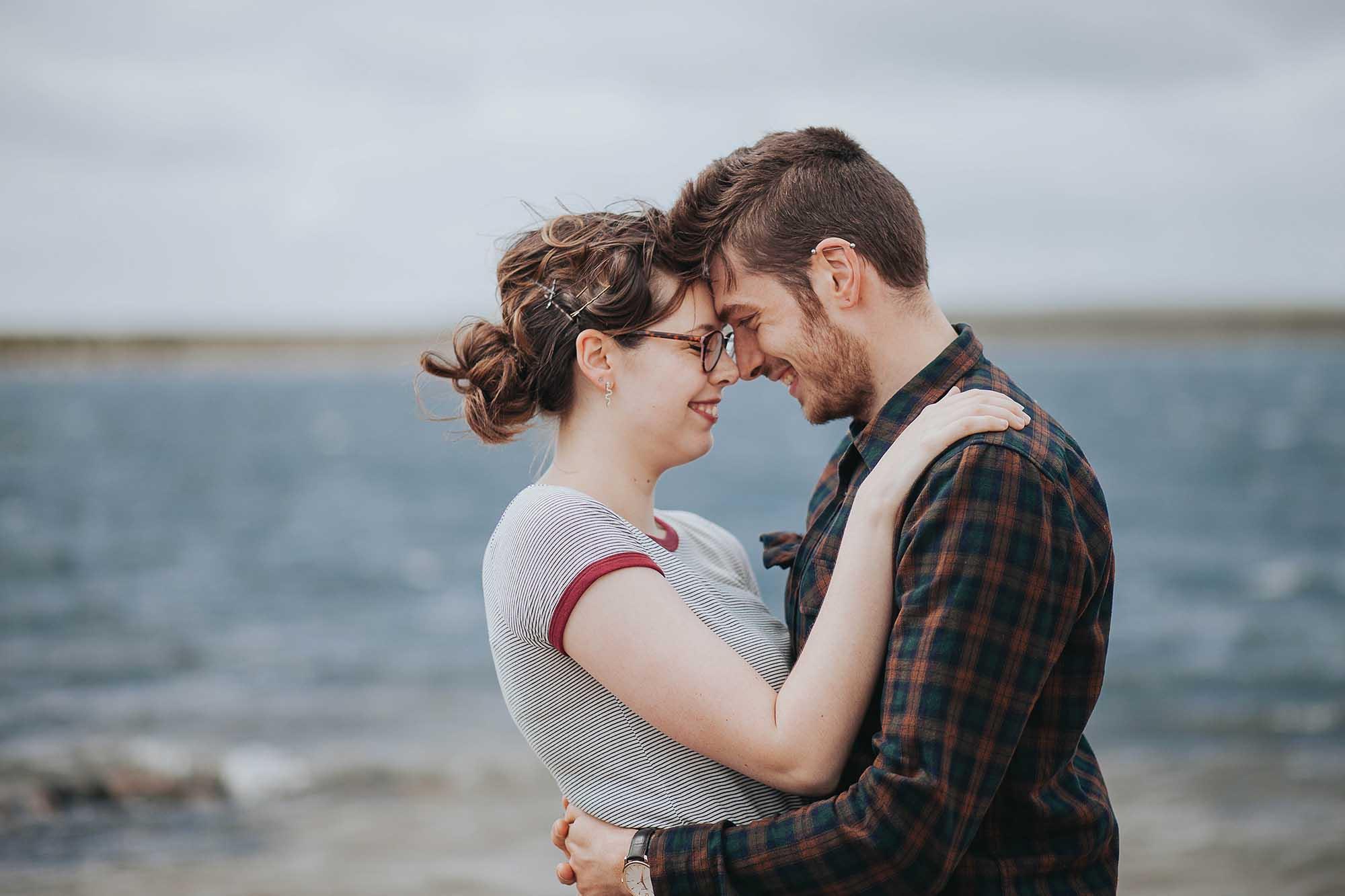 Engagement photography at Gaddings Dam