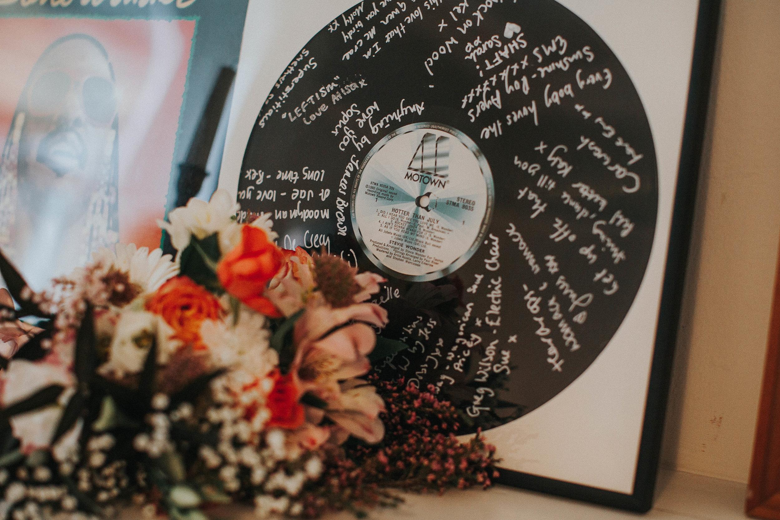 Yorkshire music themed wedding