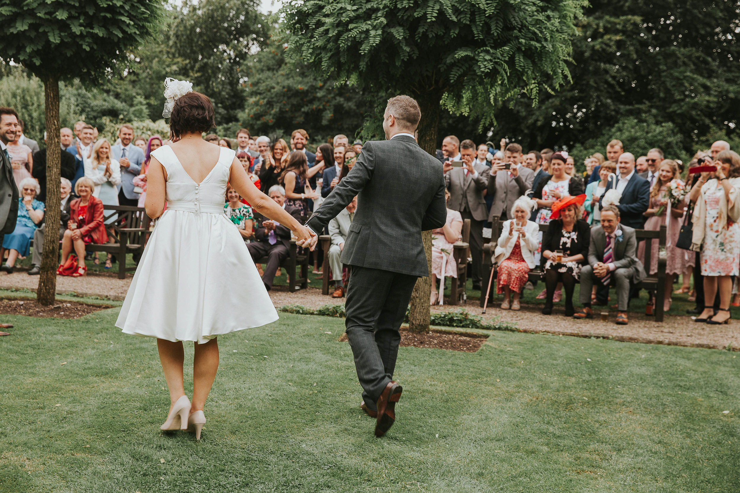 East Riddlesden Hall garden ceremony