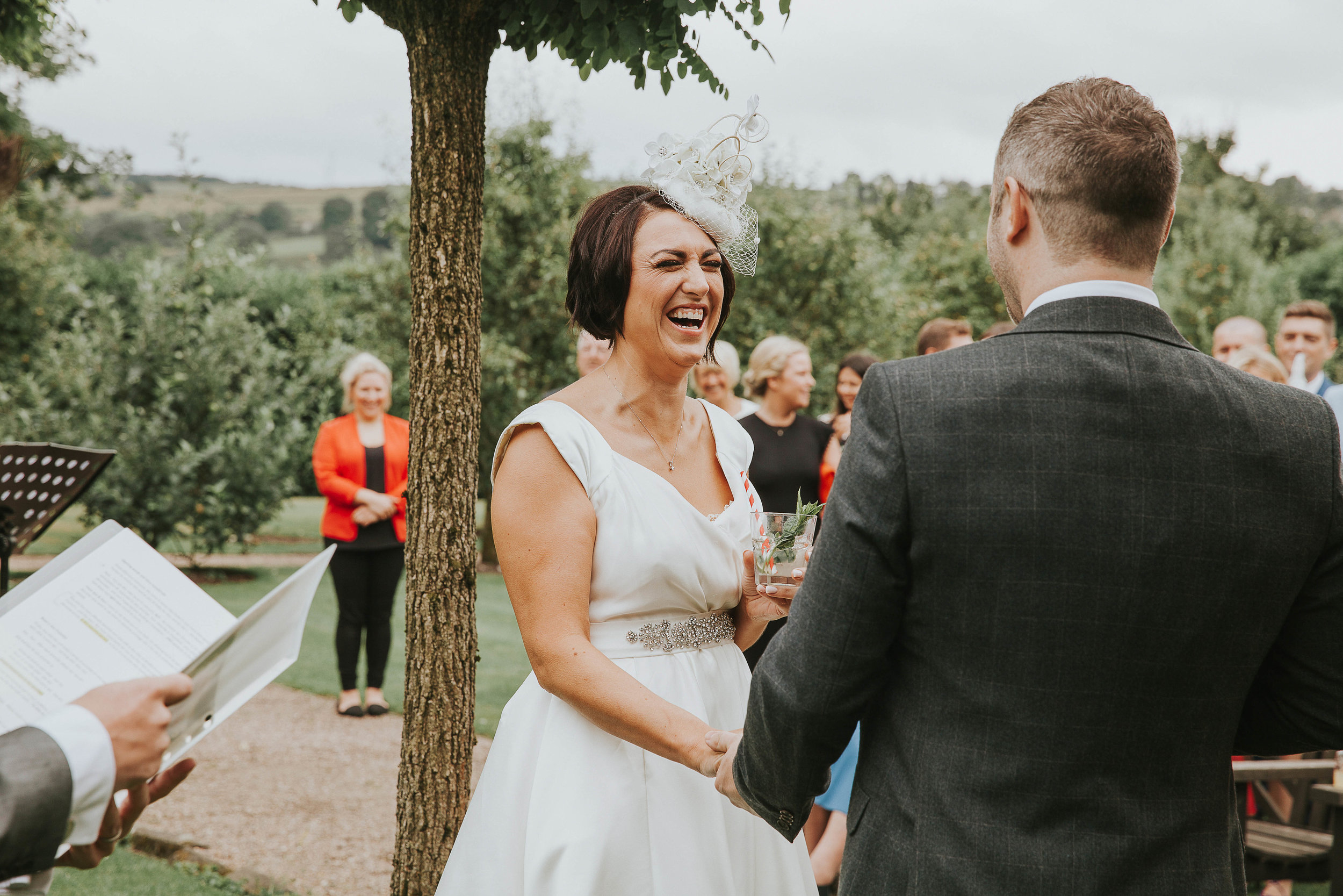 East Riddlesden Hall outdoor ceremony