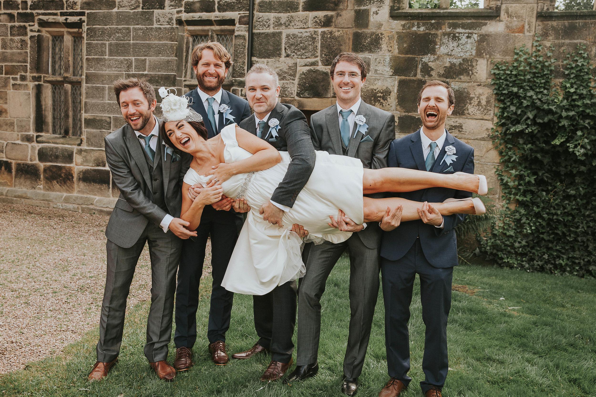 East Riddlesden Hall groomsmen
