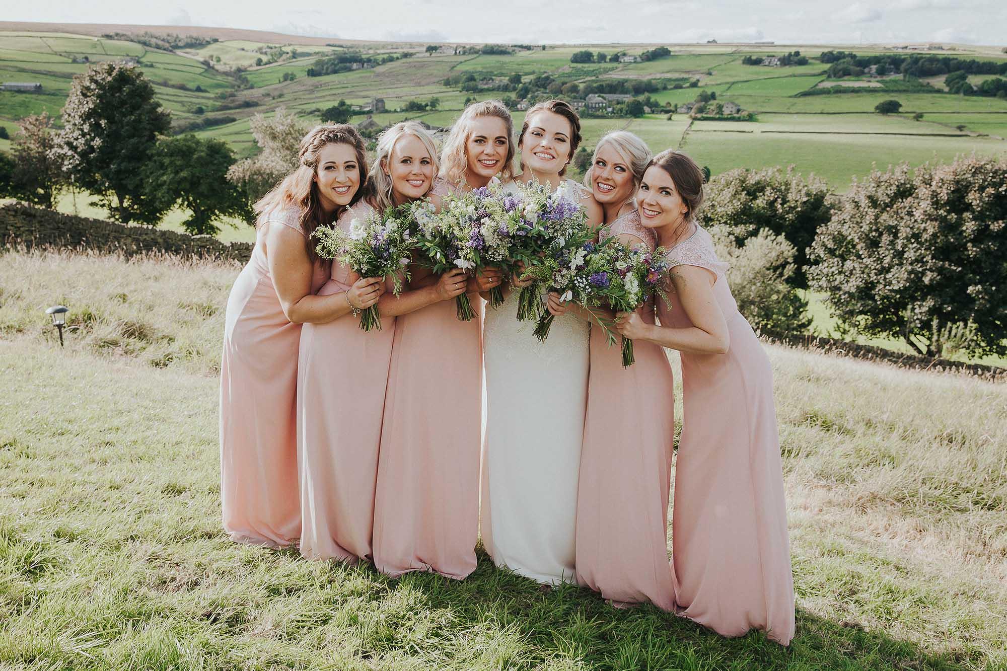 Ripponden bridesmaids