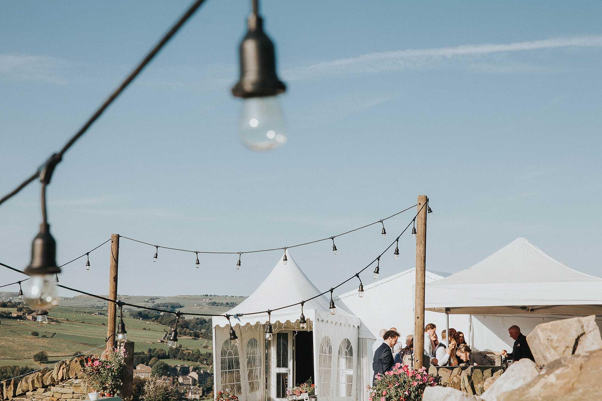 Yorkshire marquee wedding