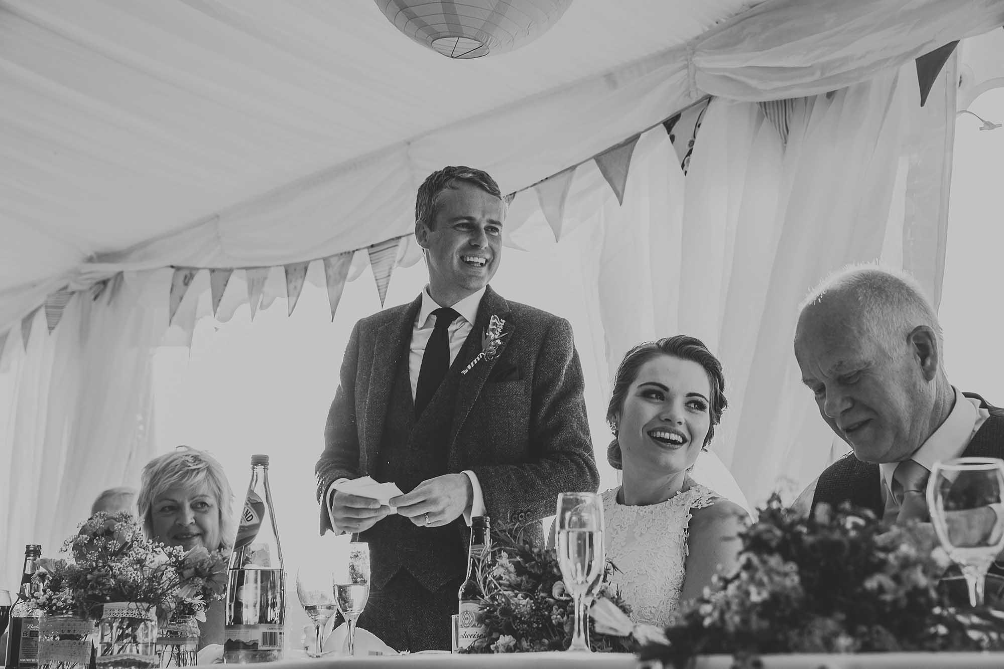 Ripponden speeches at wedding