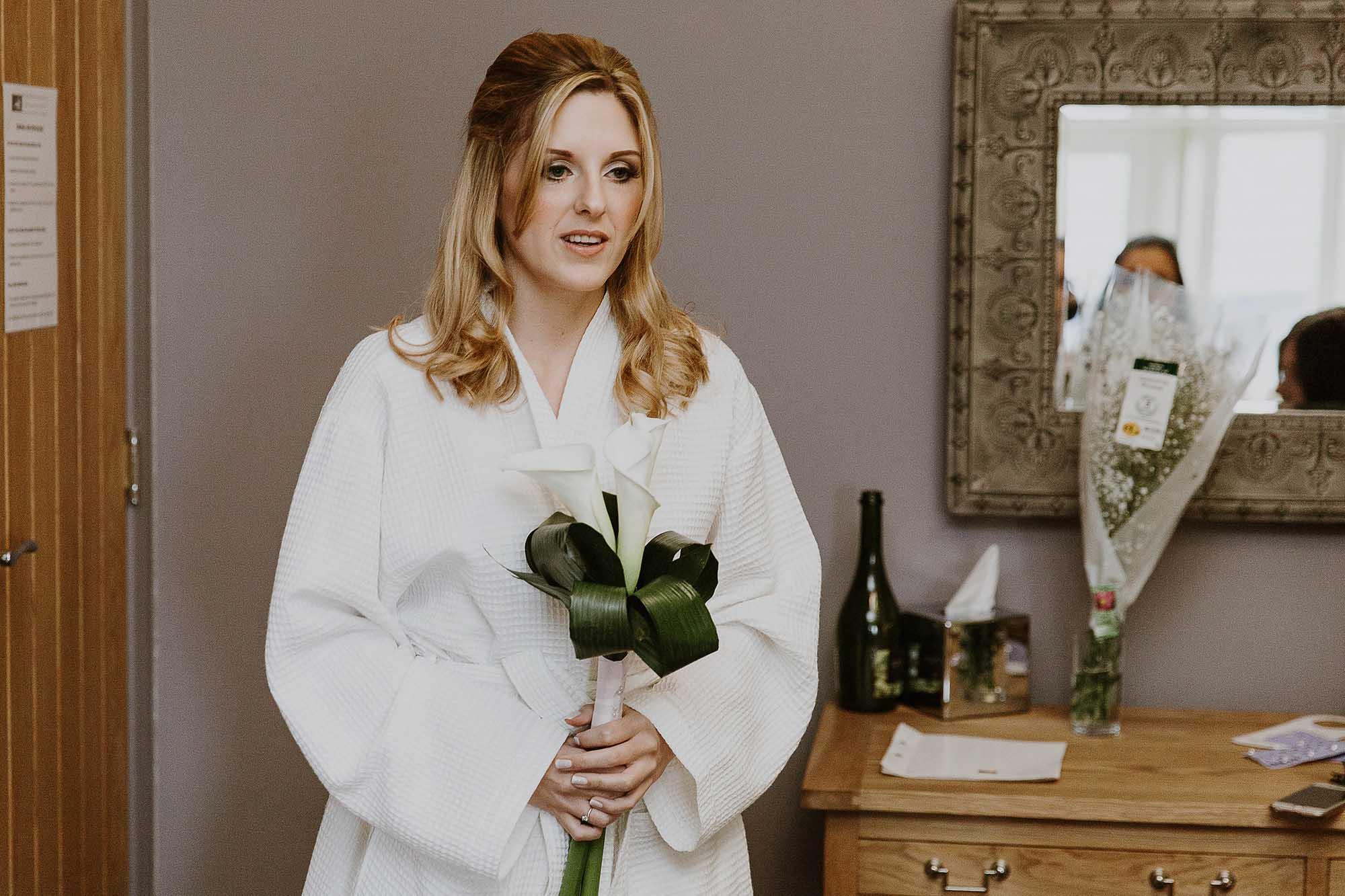 Bride at The White Hart Saddleworth