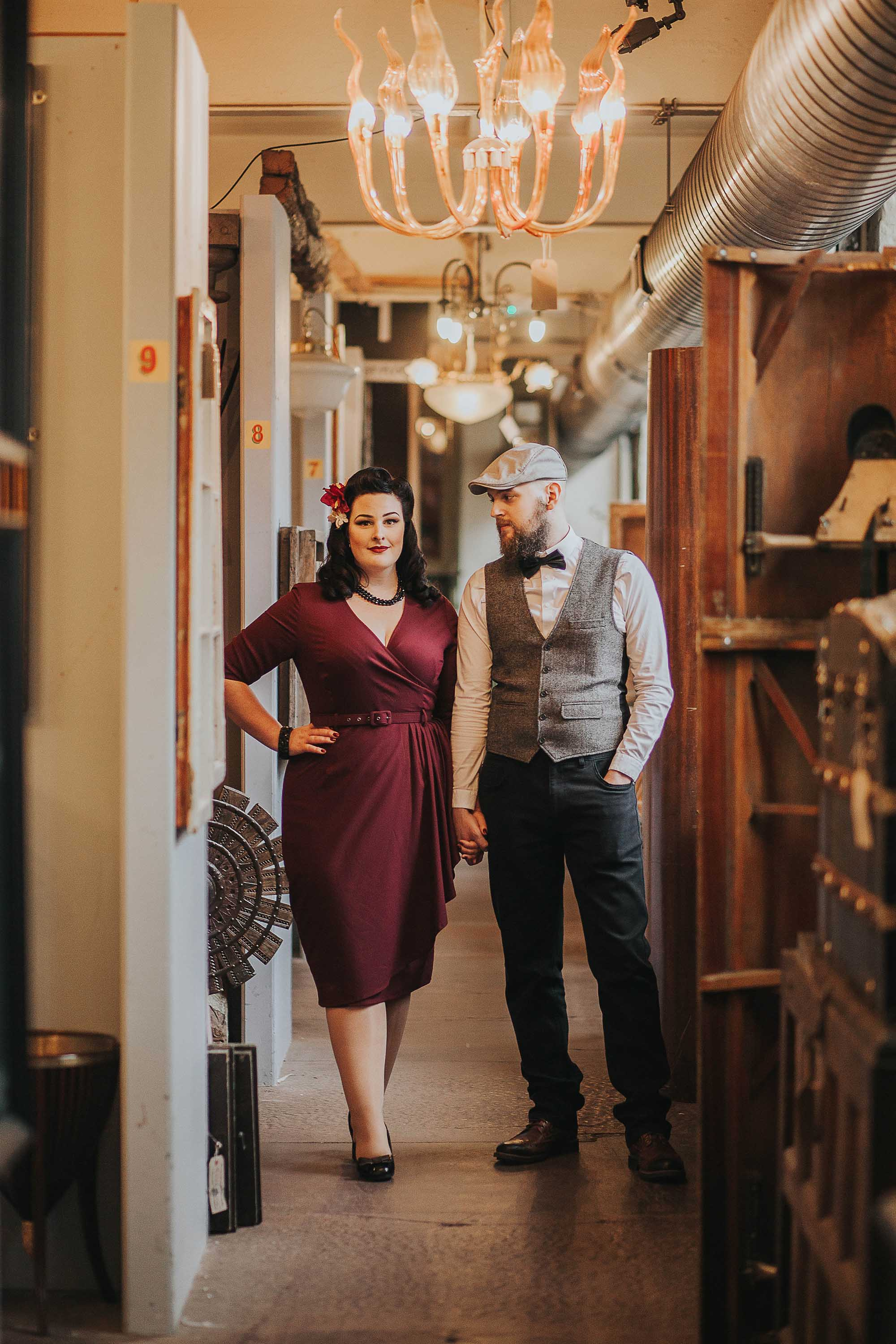 Quirky engagement session in Halifax