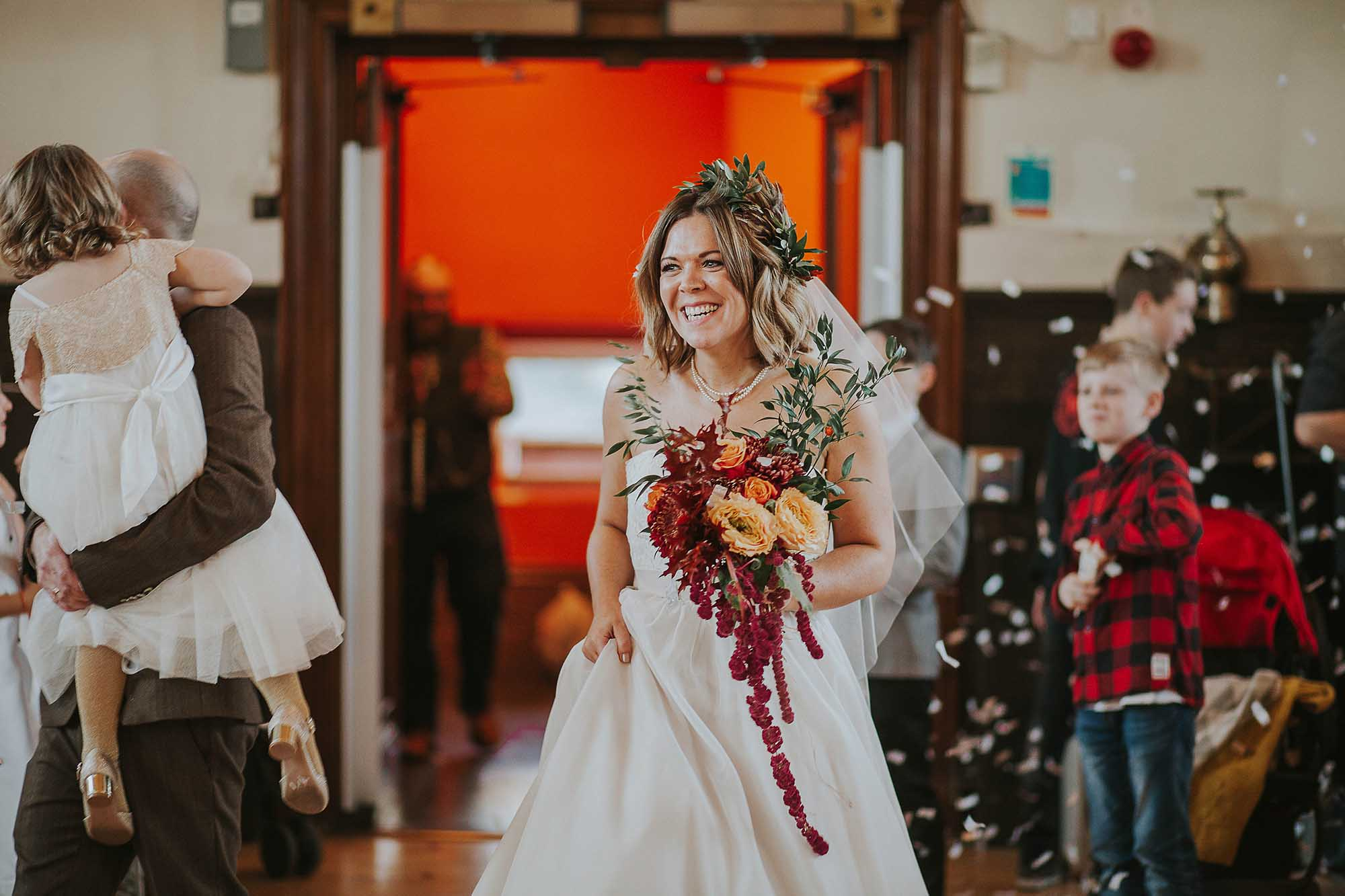 Todmorden Town Hall wedding