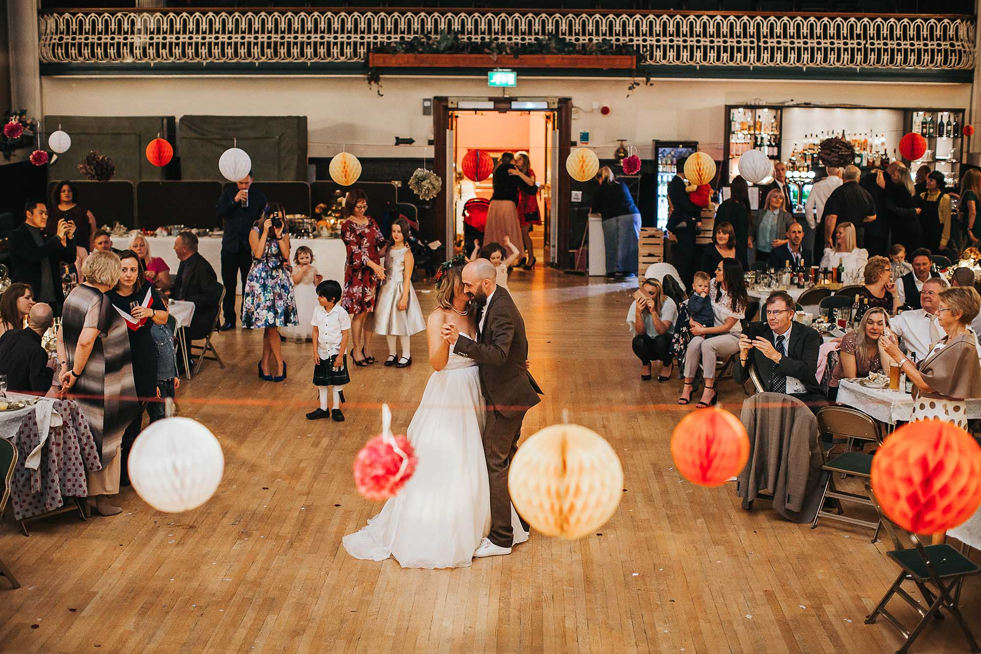 first dance in Todmorden Town Hall