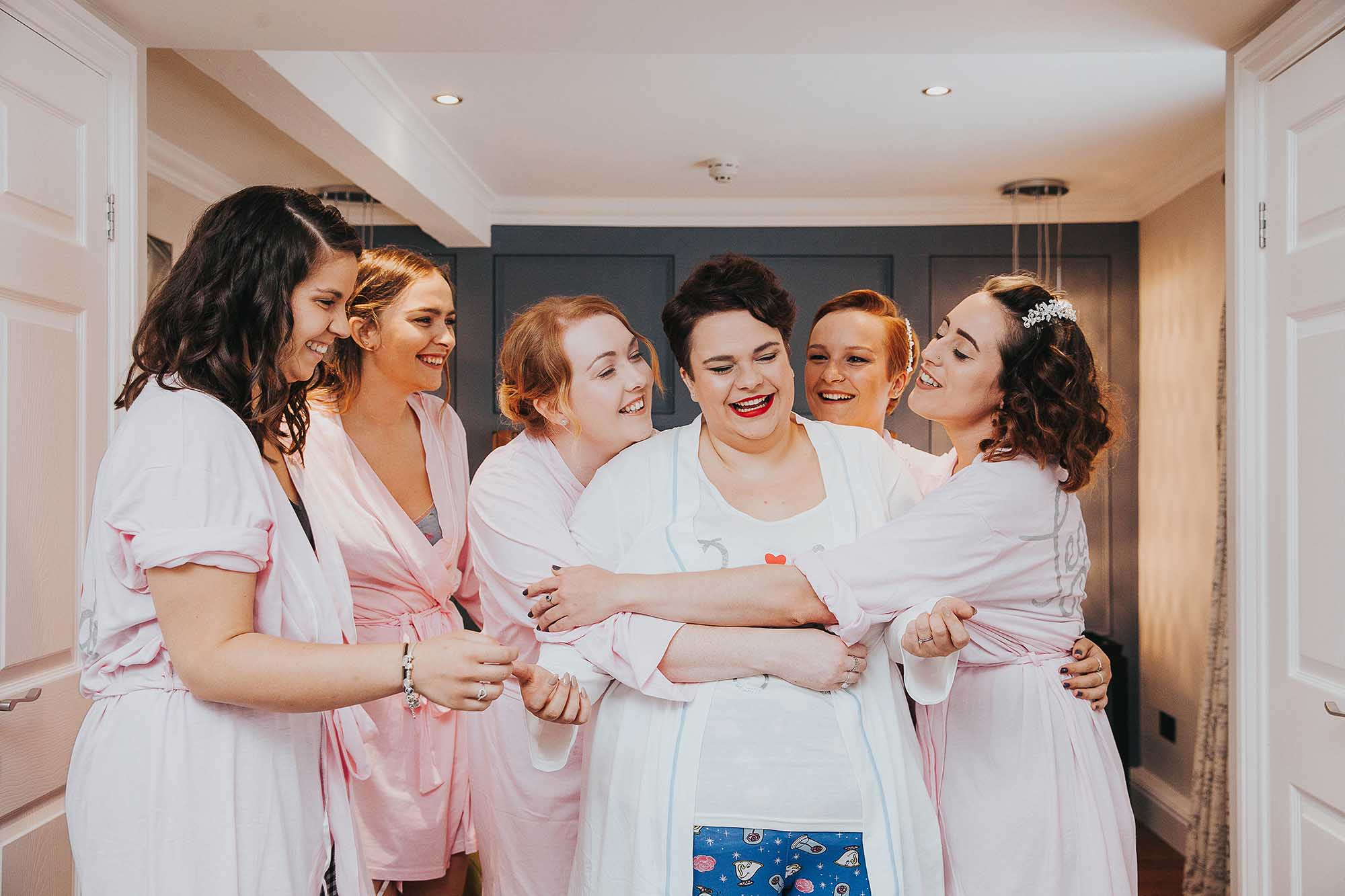 bridal party in Wetherby