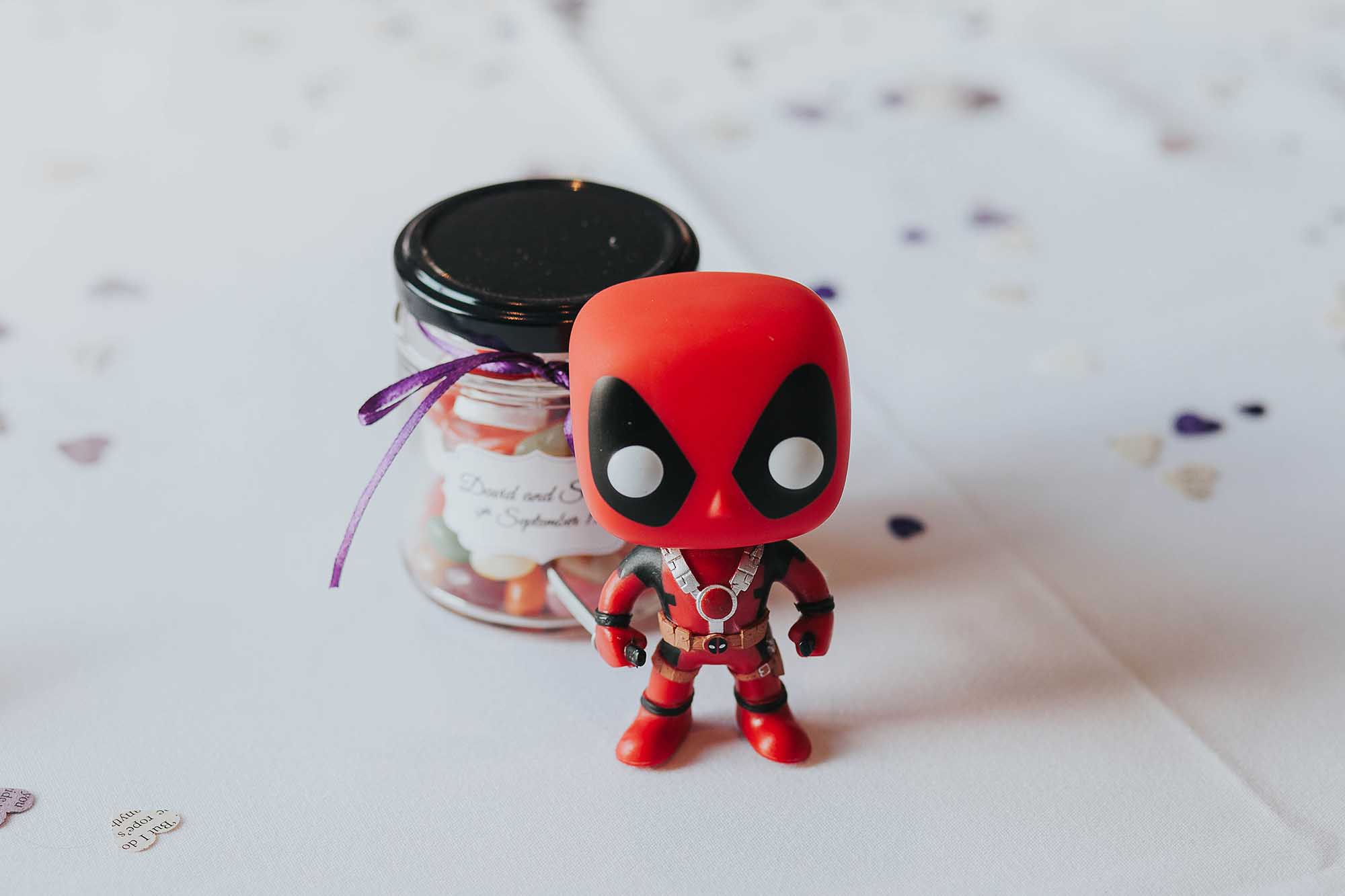 deadpool themed wedding