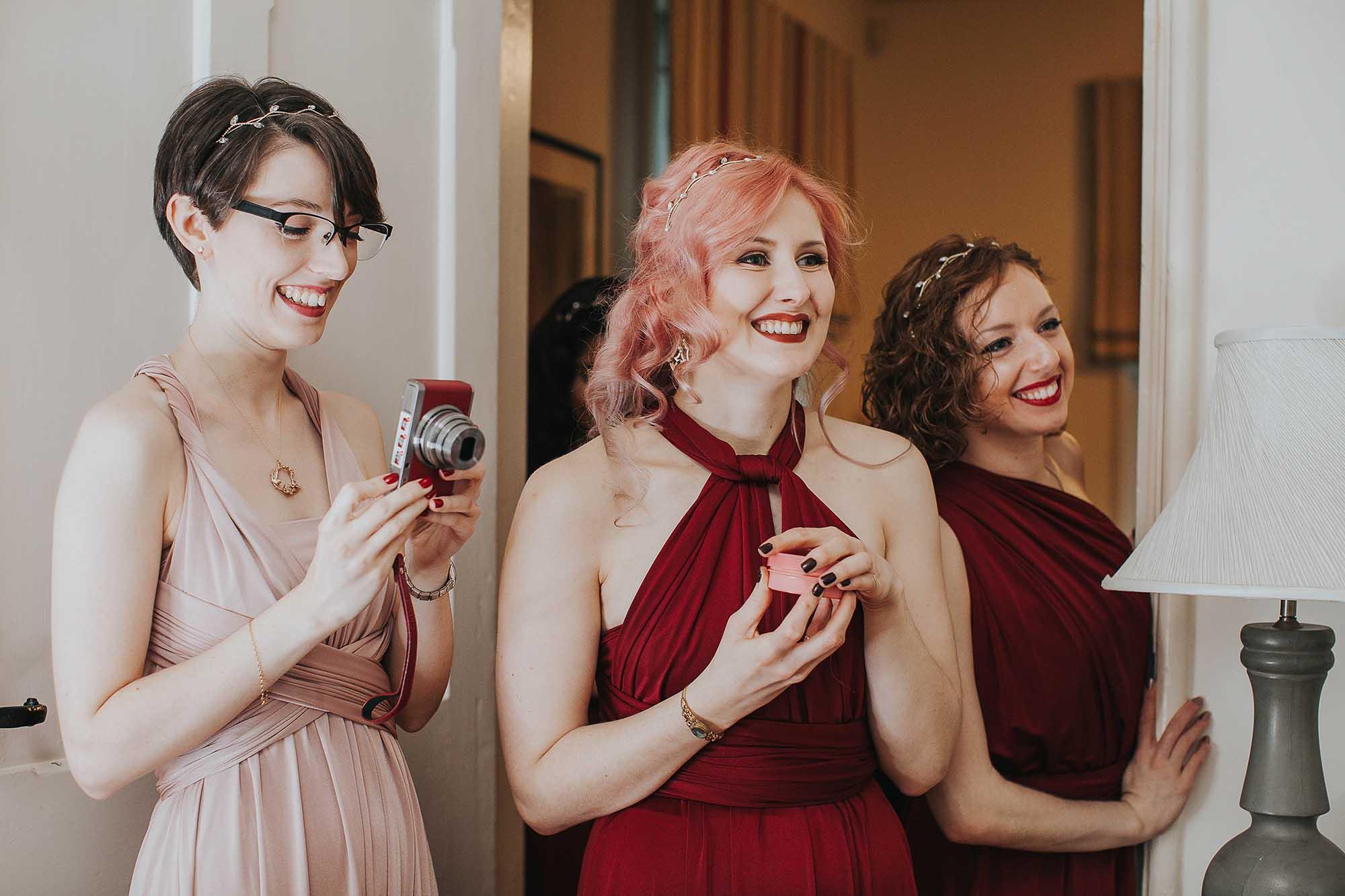 Samlesbury Hall wedding photographer