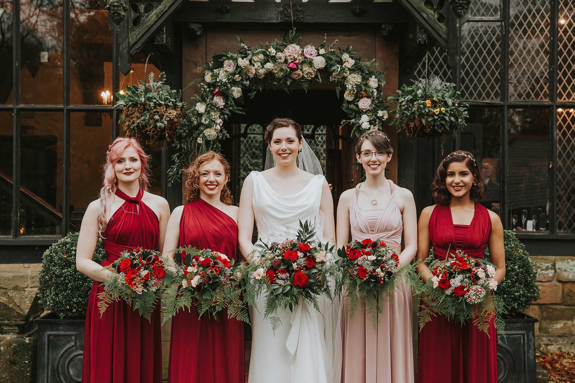 Samlesbury Hall wedding photography