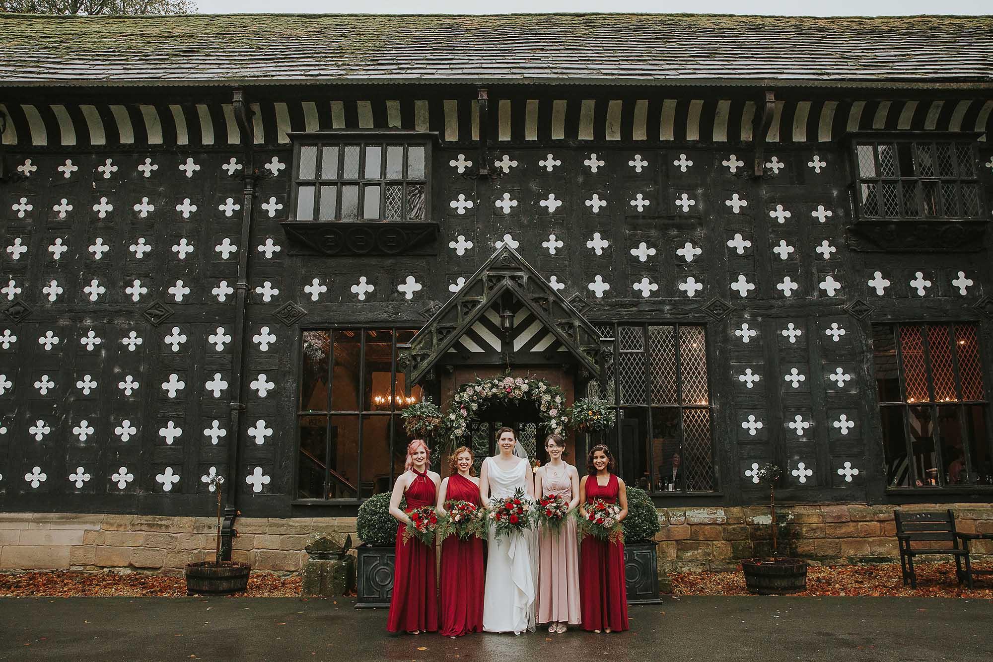 Samlesbury Hall Preston wedding