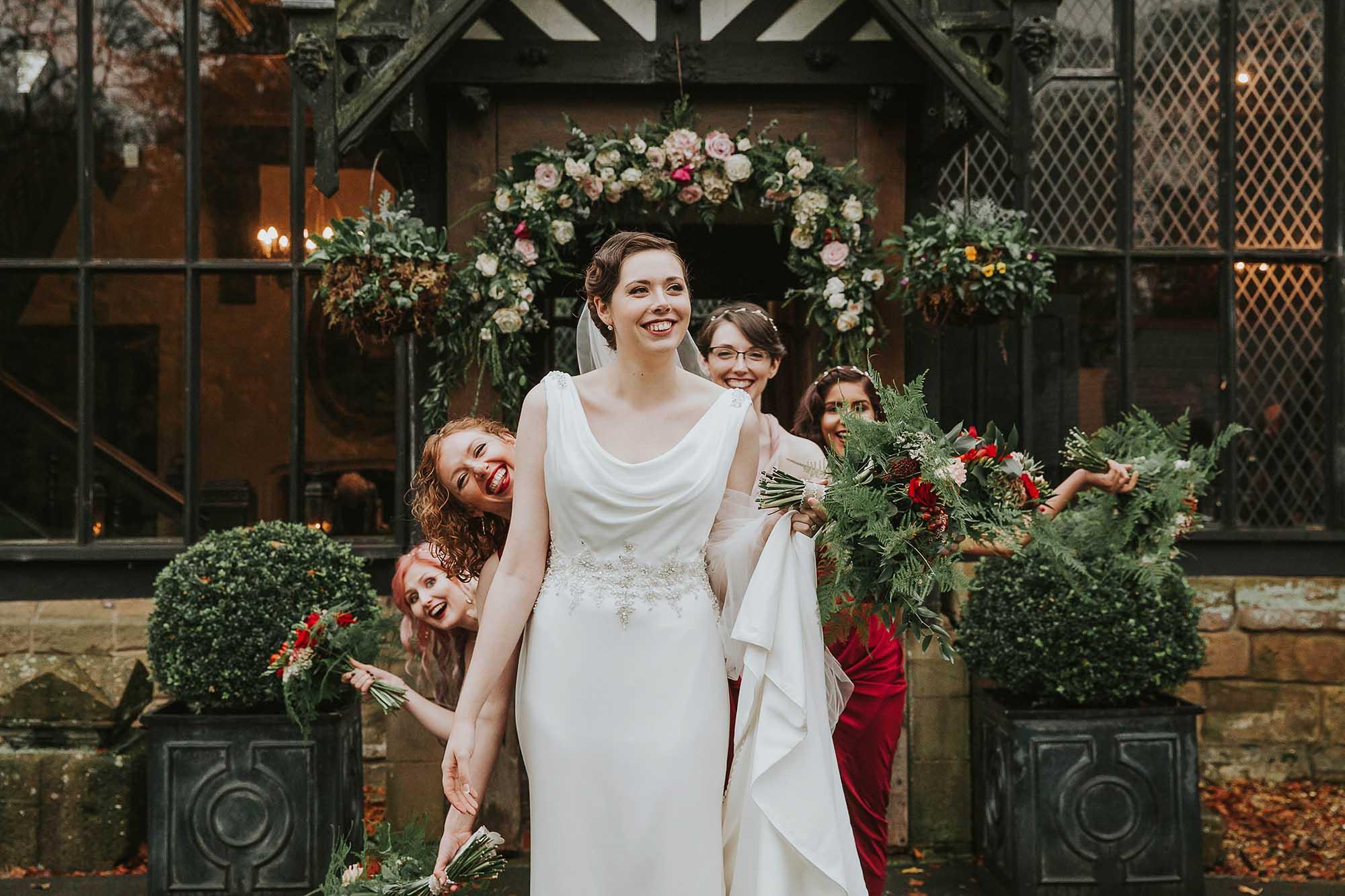 wedding photographer Samlesbury Hall