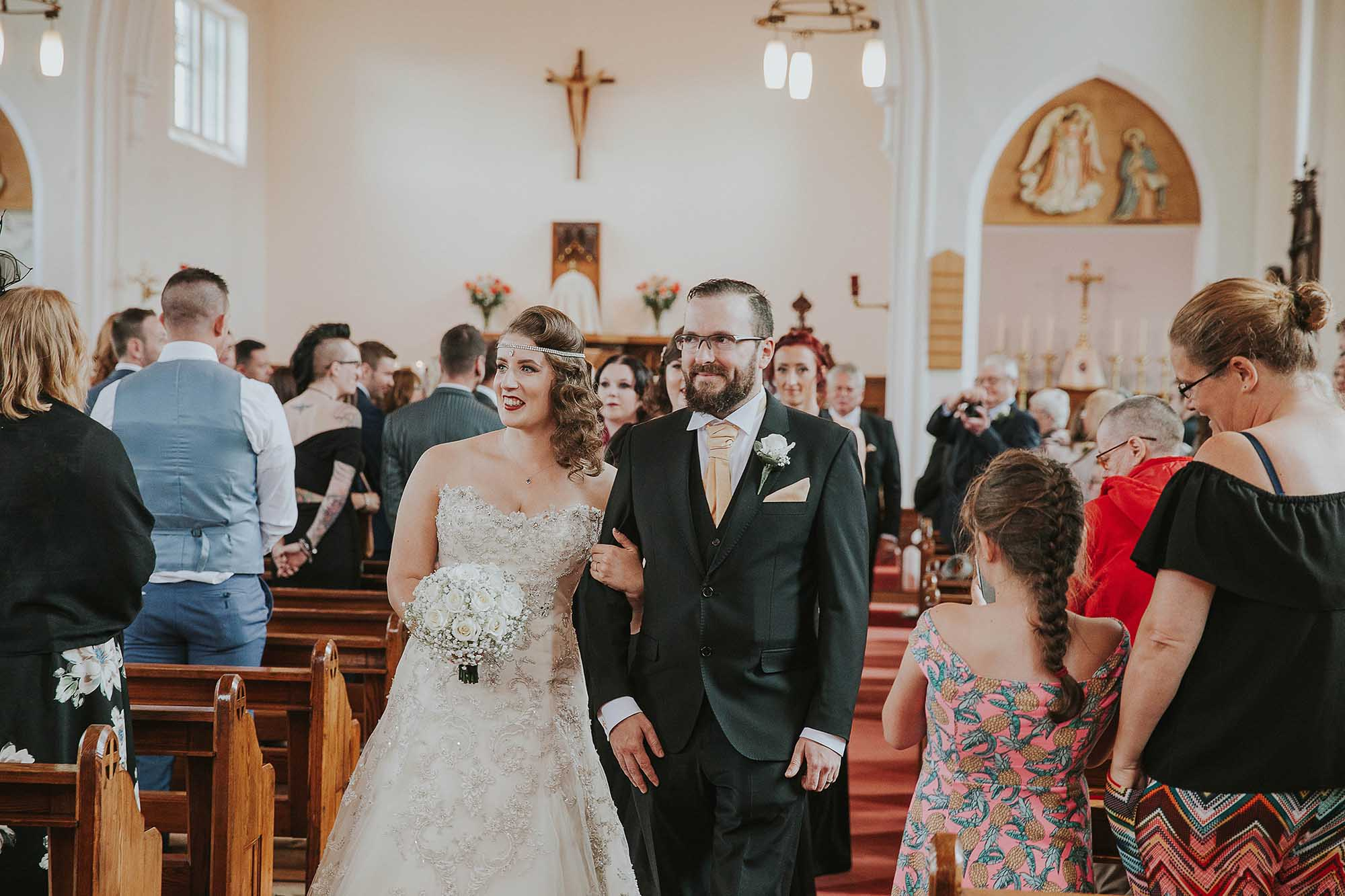 church wedding in the Ribble Valley