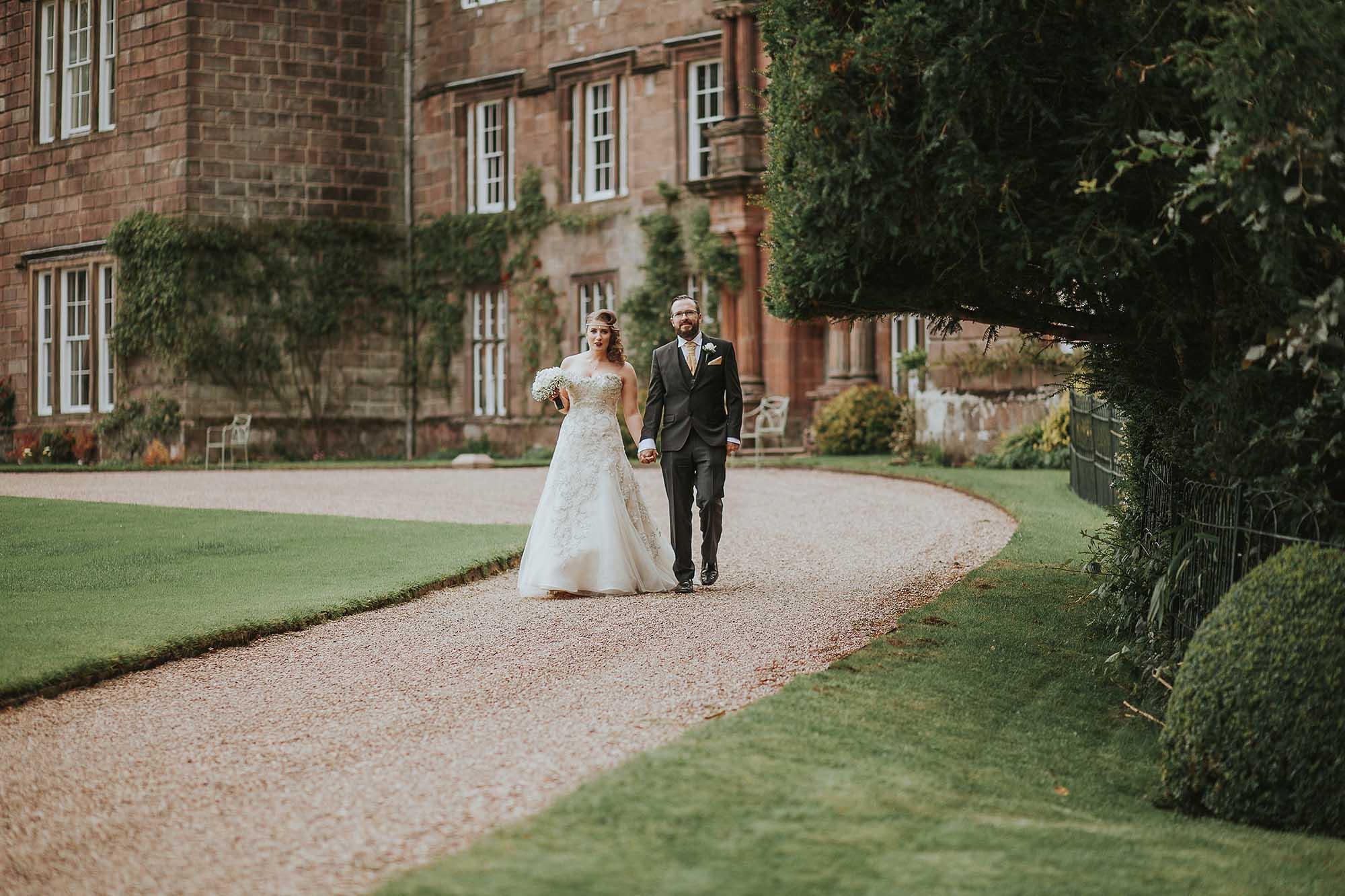 Browsholme Hall and Tithe Barn wedding photos