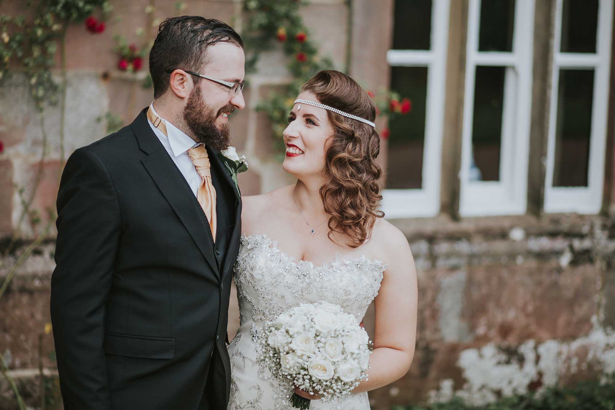 Browsholme Hall wedding day