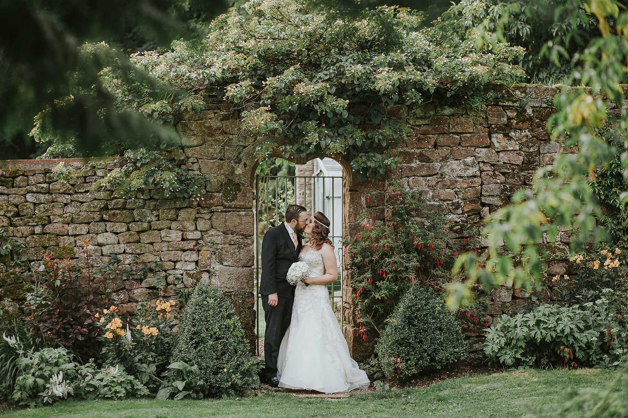 Browsholme Hall gardens