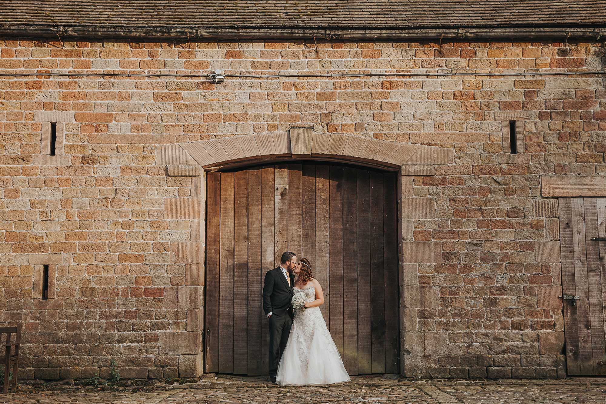 Barn wedding in the Ribble Valley