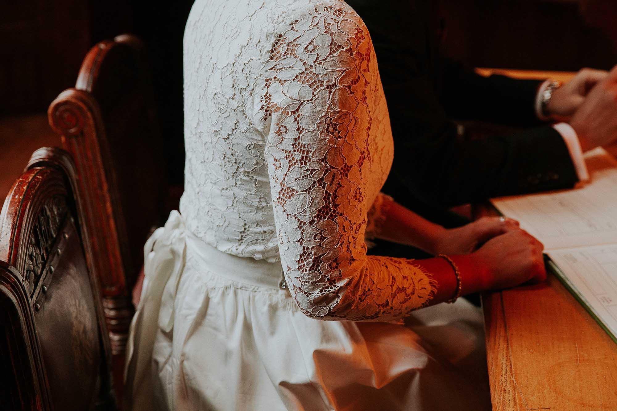 Ivy and Oak wedding dress