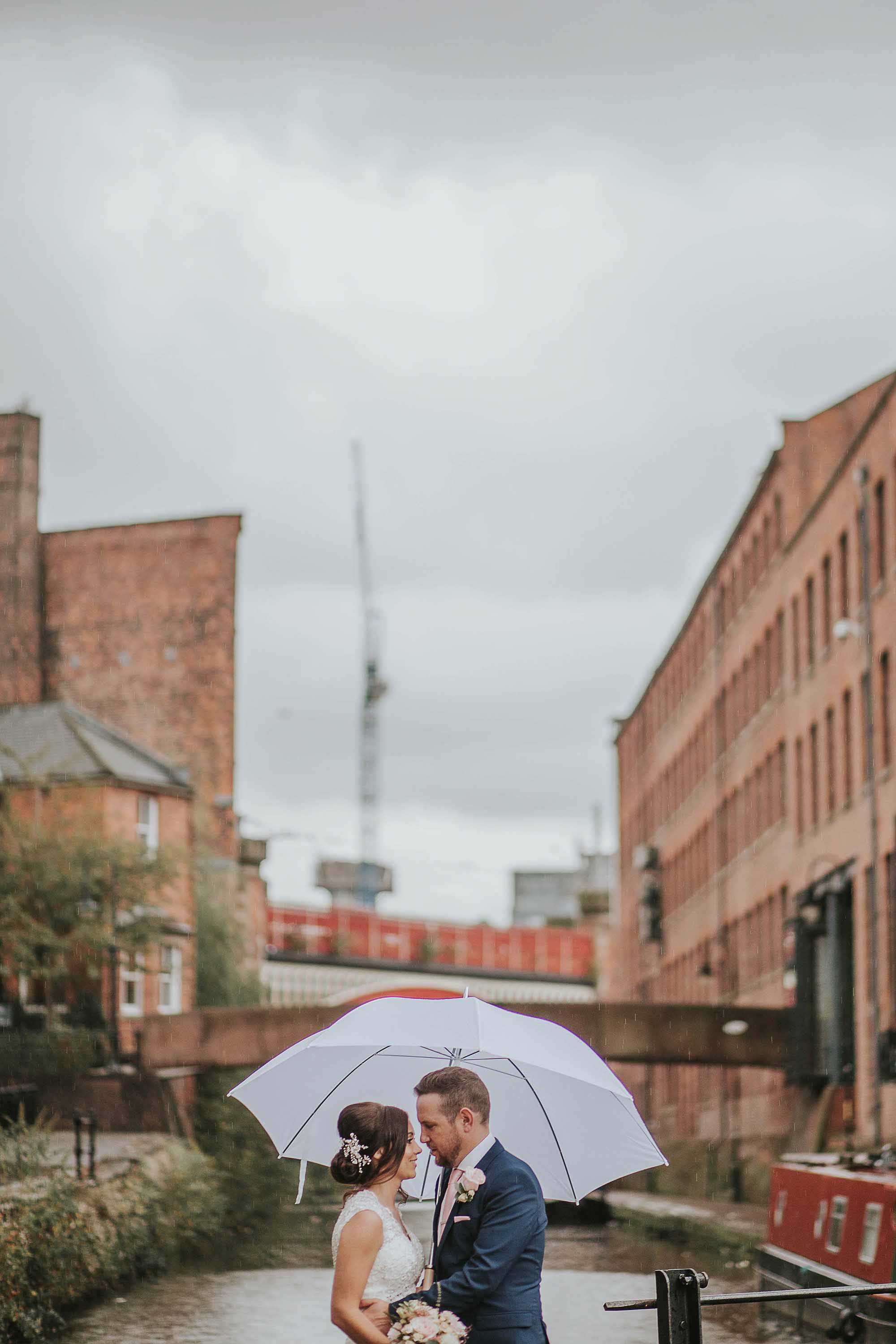 wedding at The Castlefield Rooms