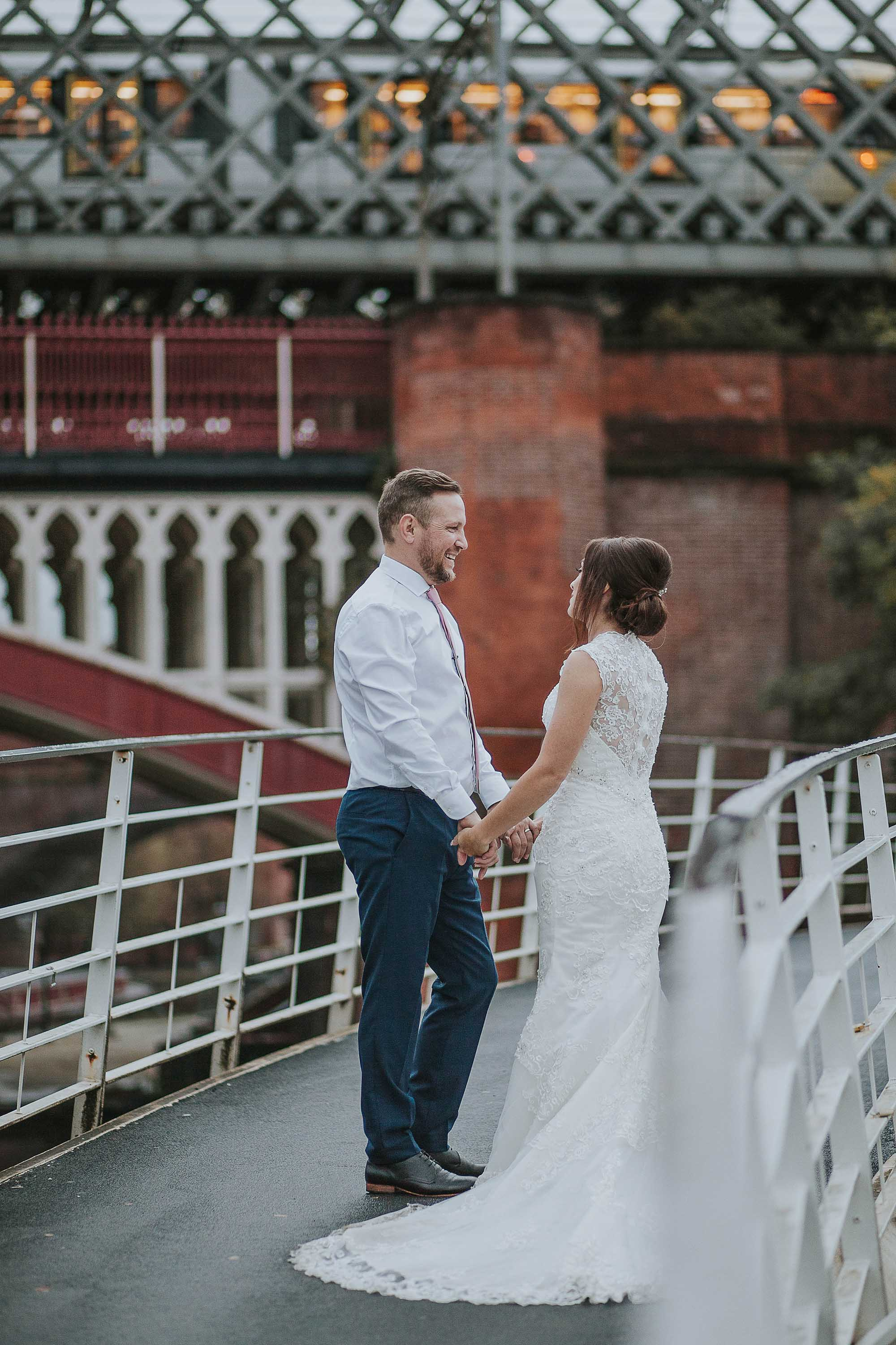 Manchester wedding at The Castlefield Rooms