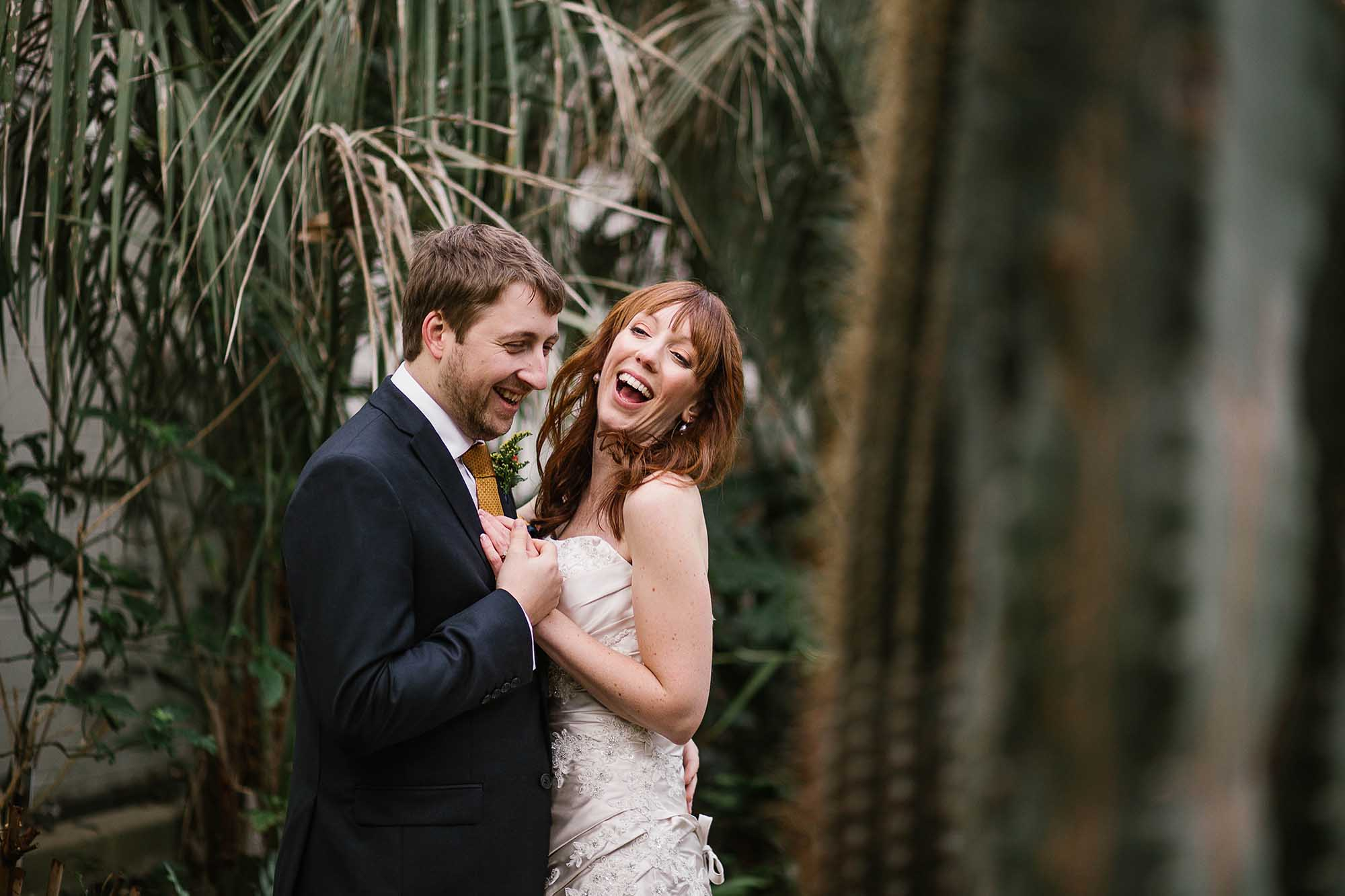 Sheffield Botanical Gardens wedding photos