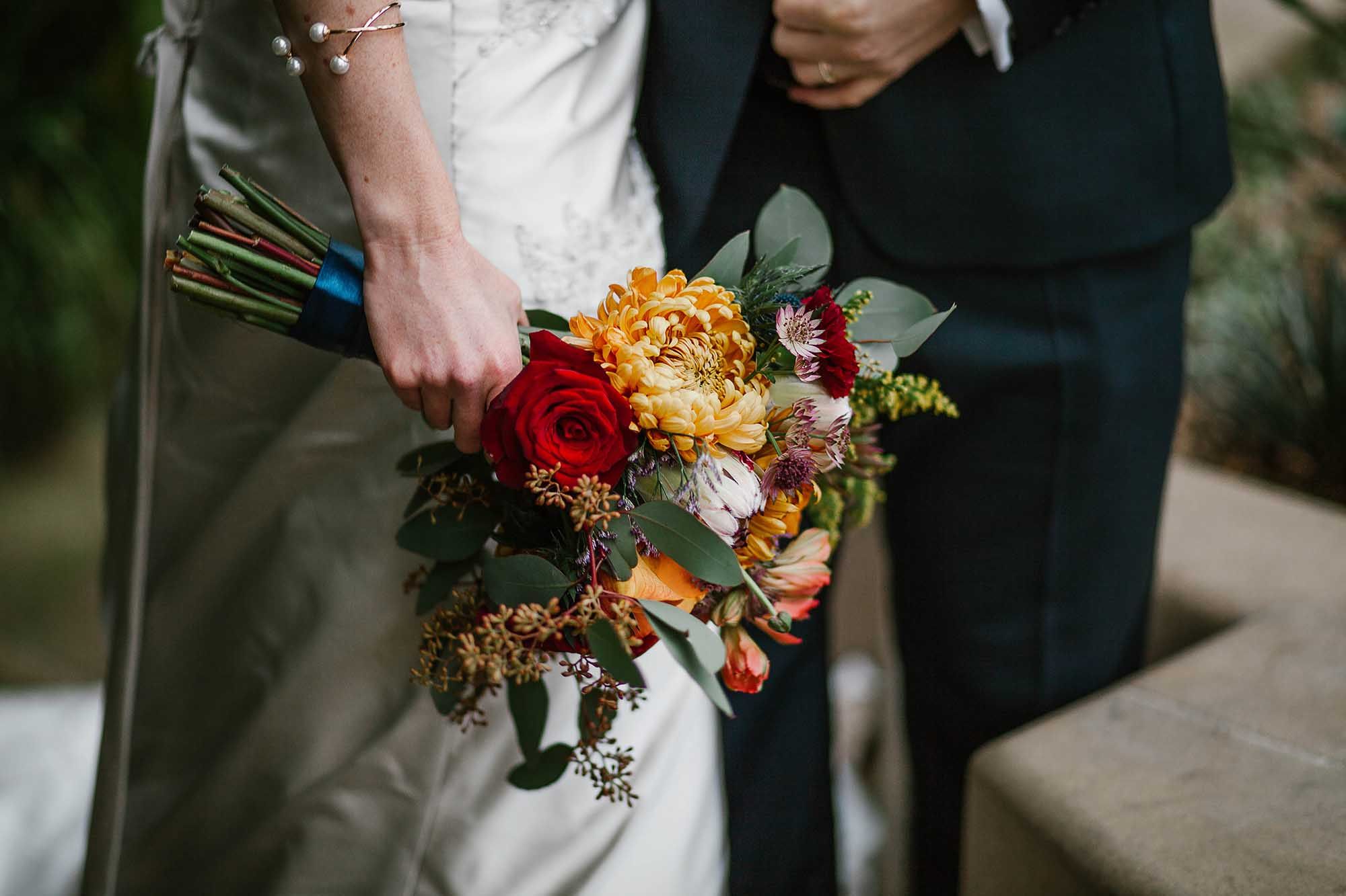 Sheffield Botanical Gardens wedding flowers