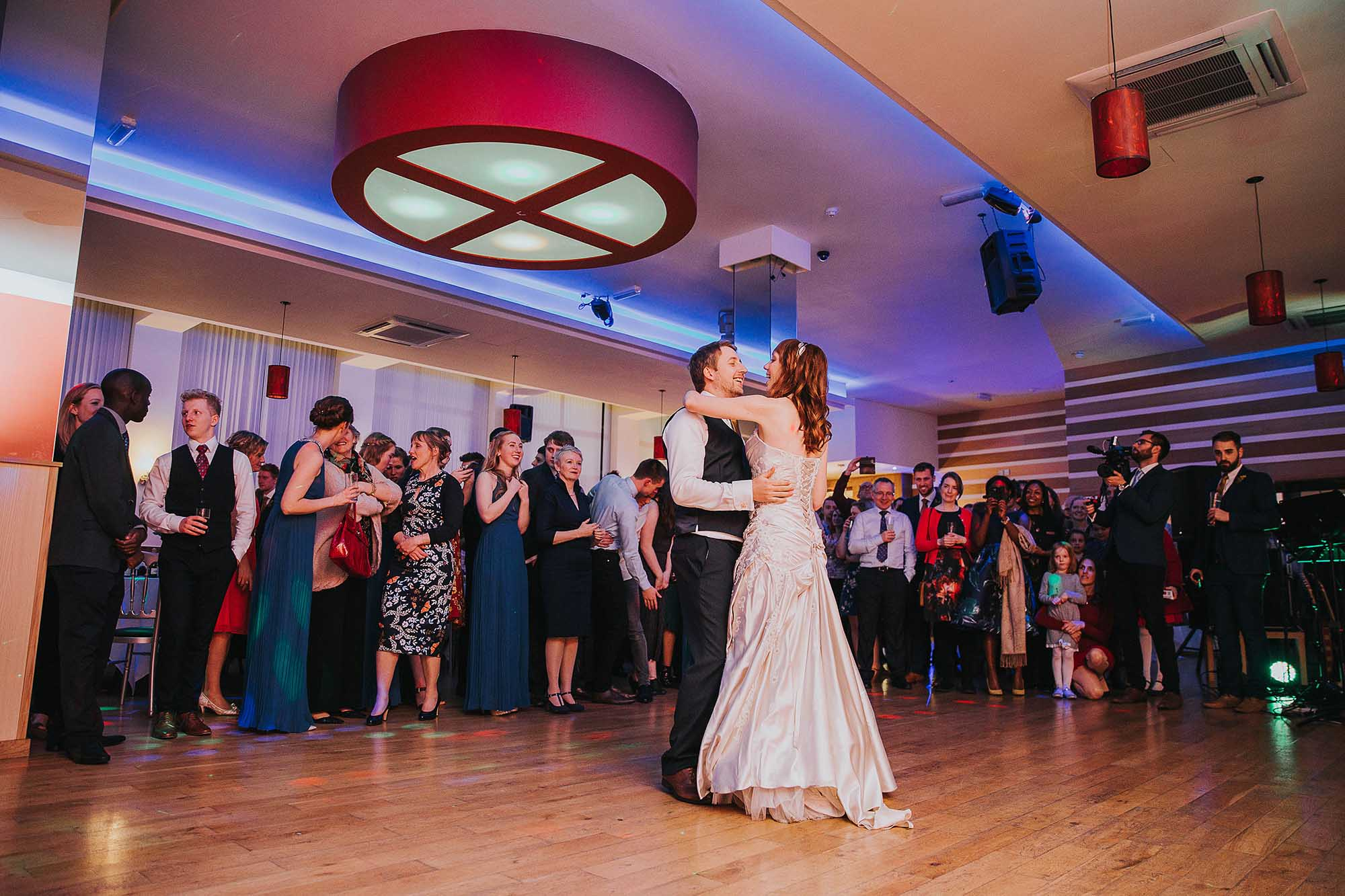 City Limits Dance Studio Sheffield wedding reception