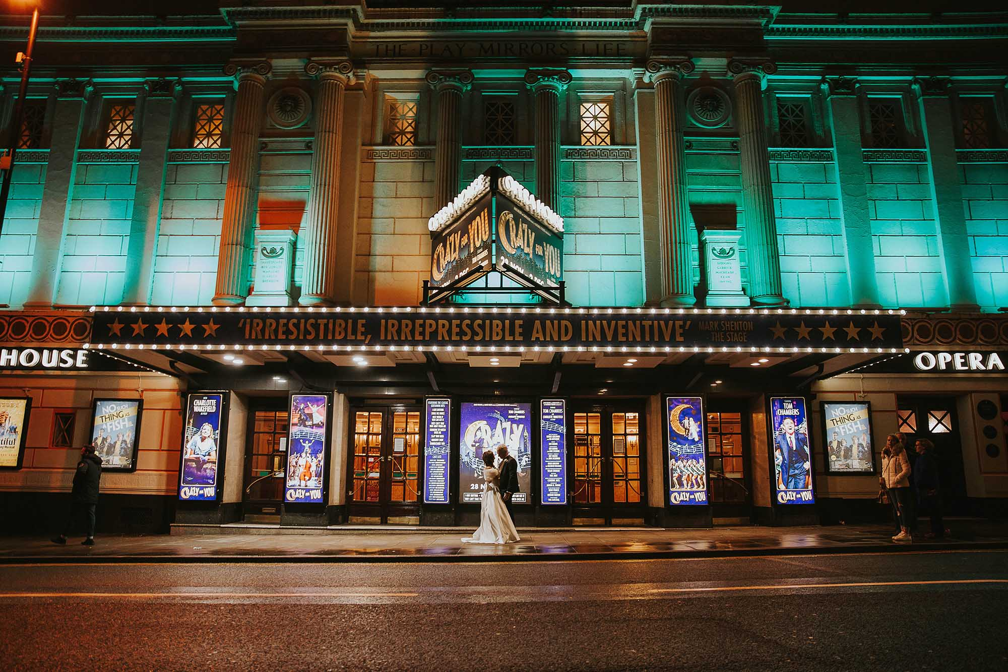 Manchester Opera House wedding