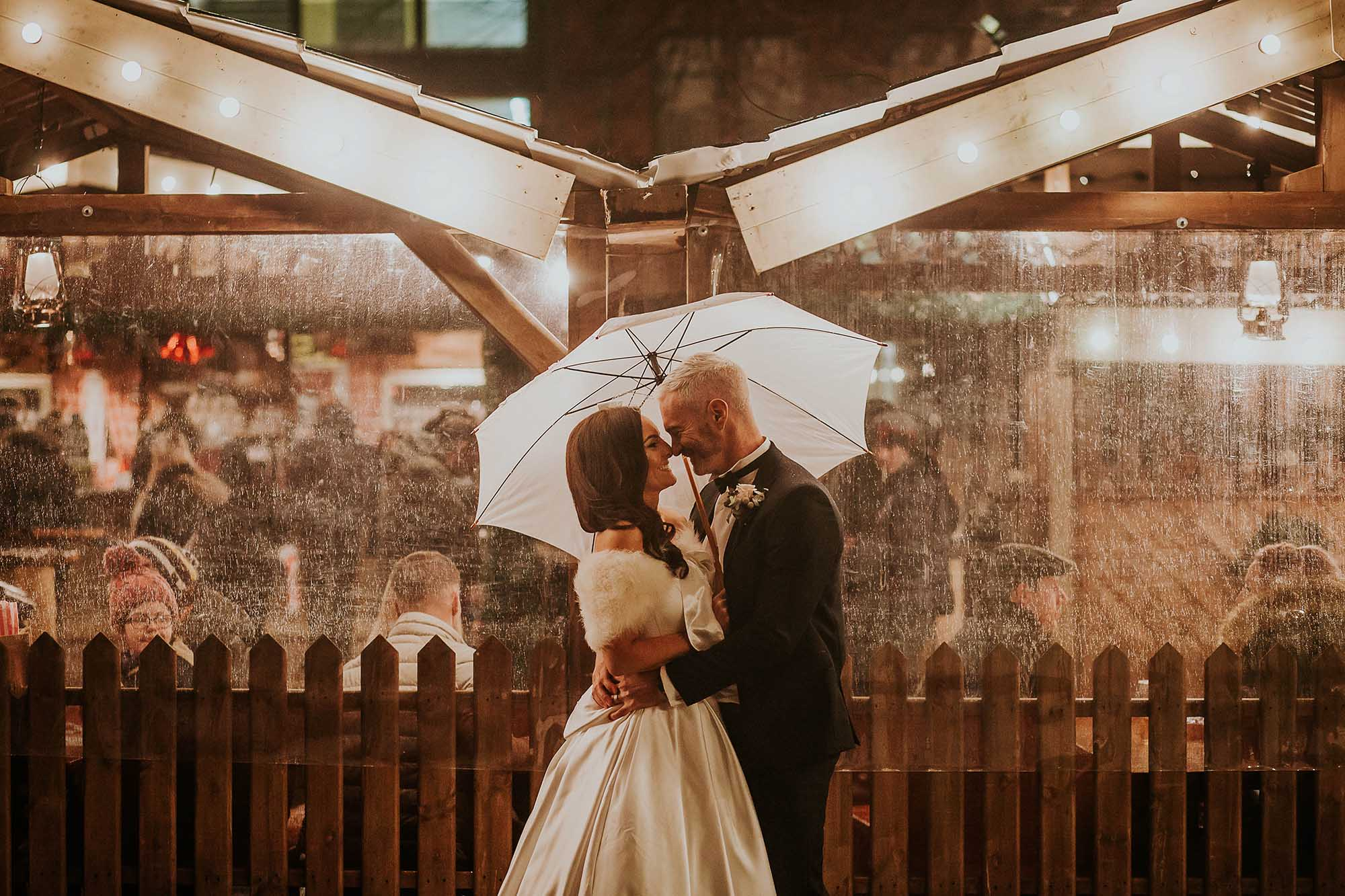 Manchester Christmas markets wedding