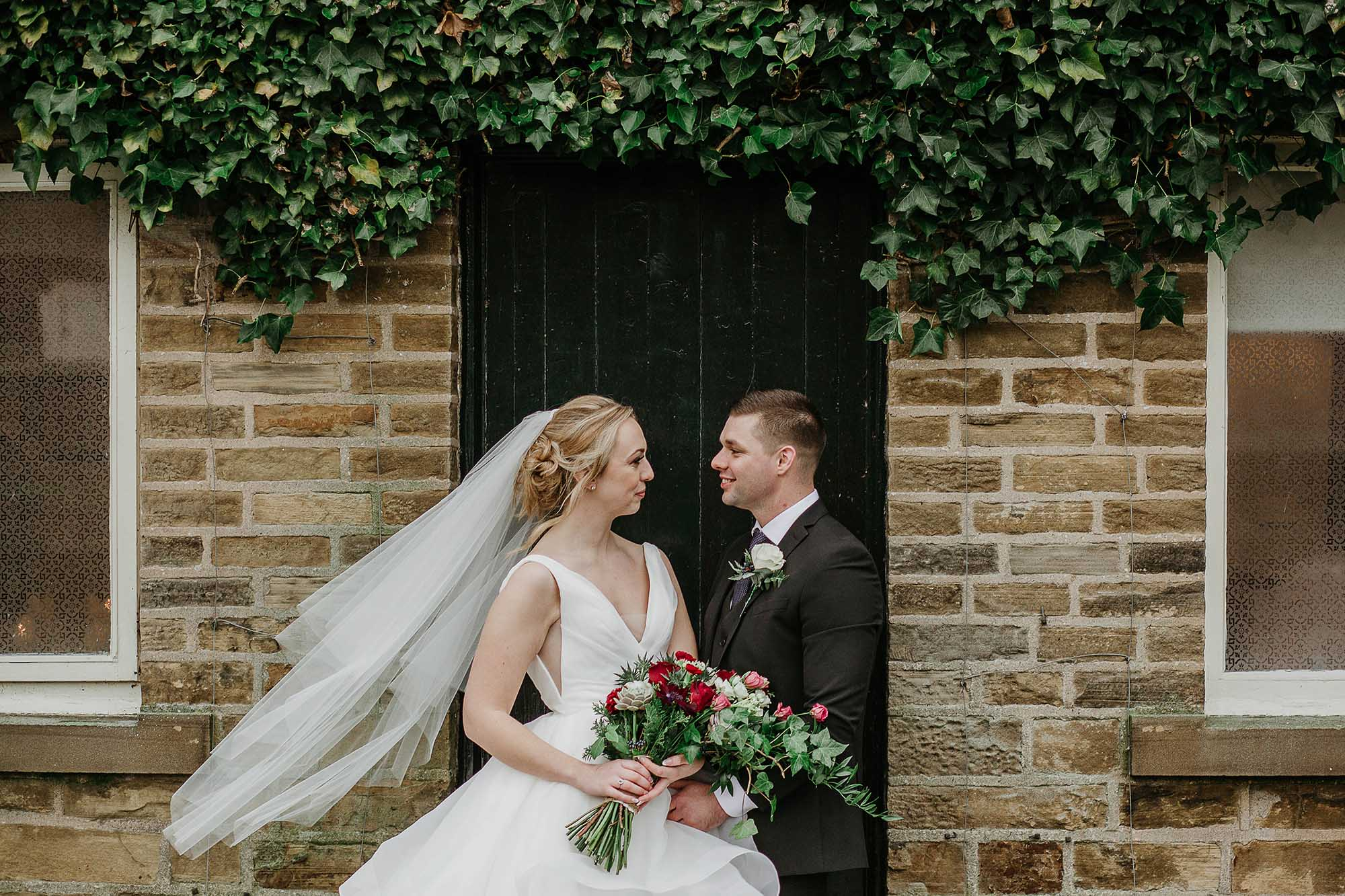 Holdsworth House in Halifax wedding photographs