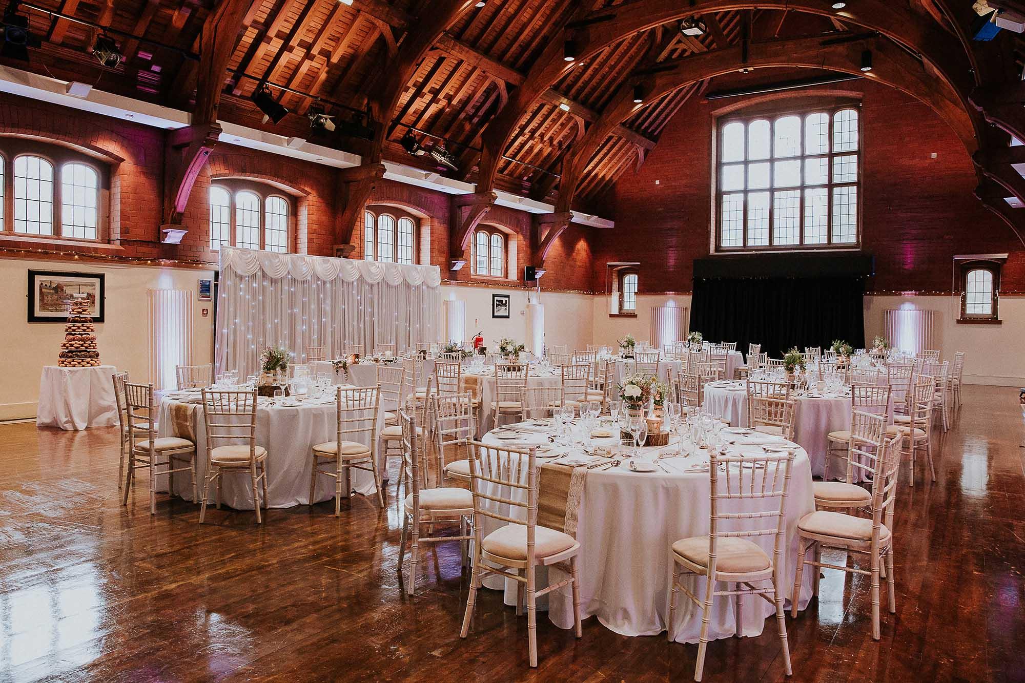 Bolton School wedding reception