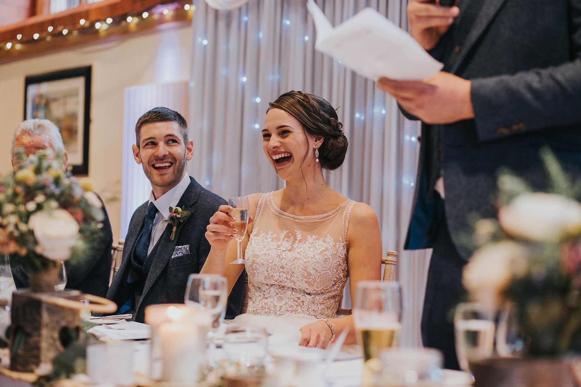 wedding speeches at Bolton School