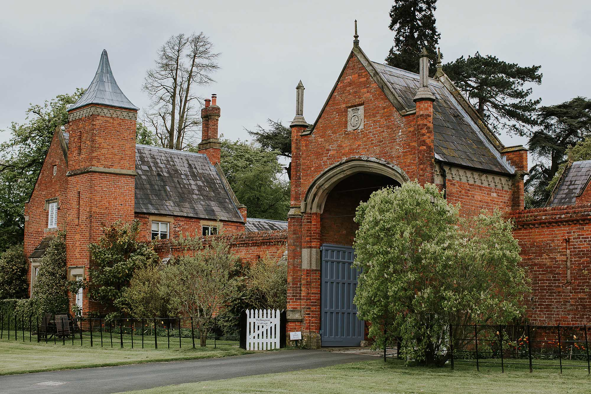 Combermere Abbey wedding cottages