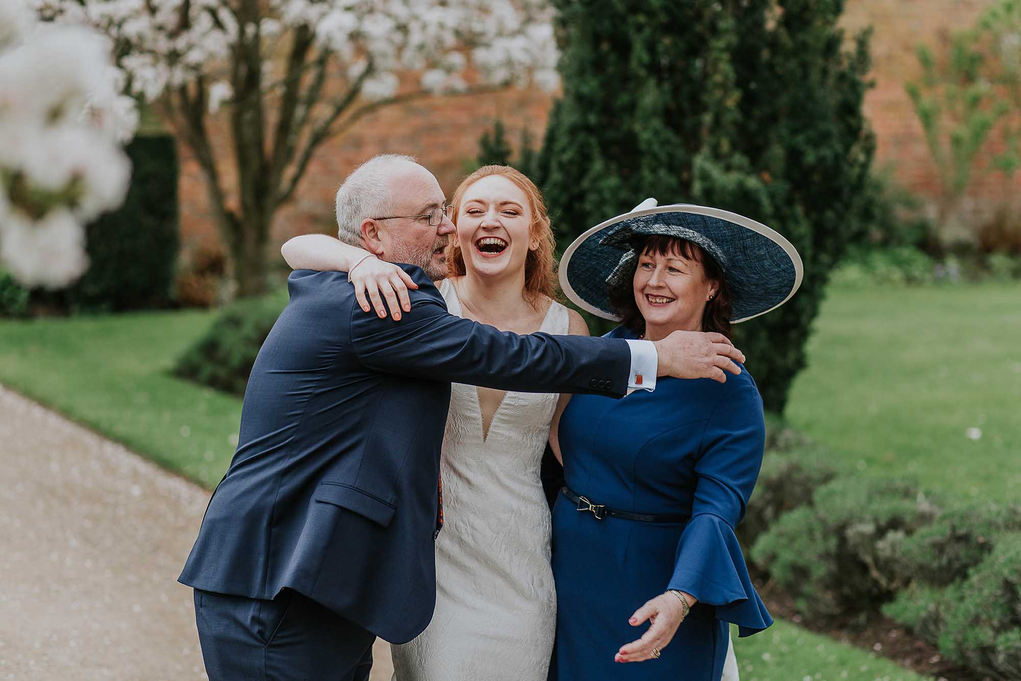 natural wedding photography Combermere Abbey
