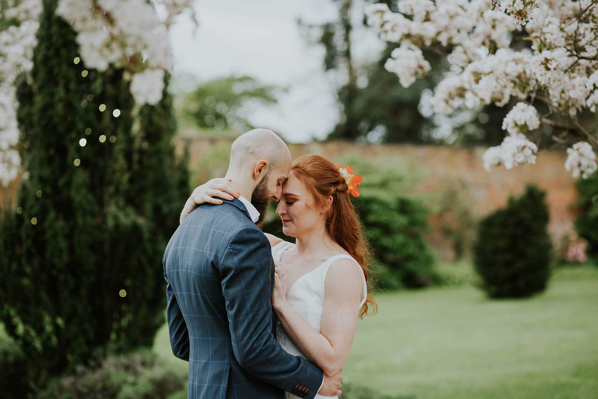 May wedding Combermere Abbey
